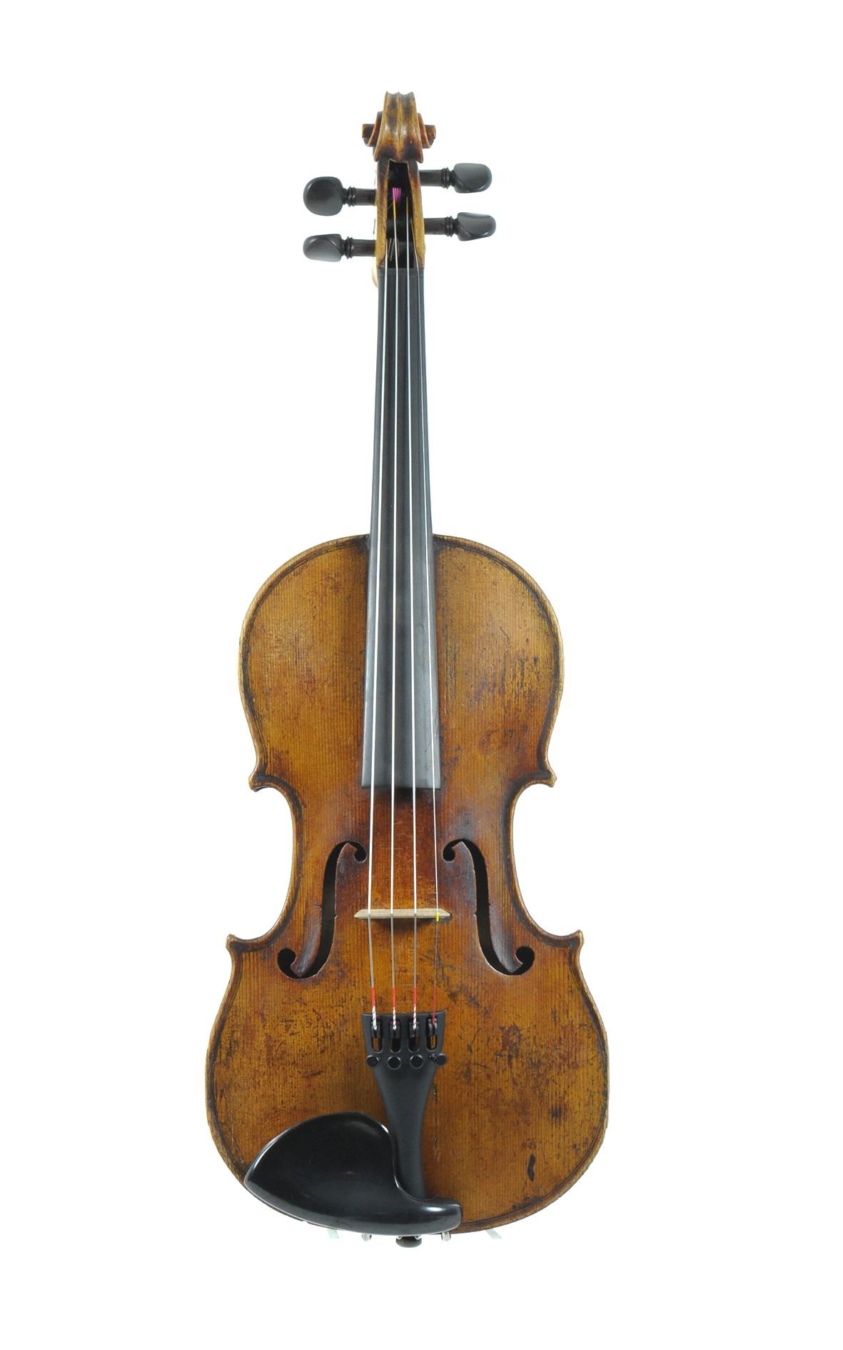 Französische 3/4 Geige, um 1900 - Vorderansicht