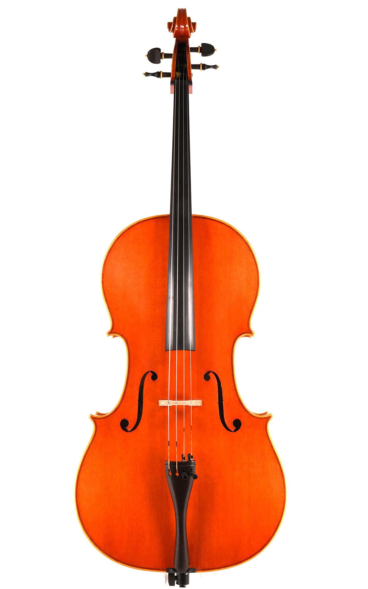 Italian cello by Lorenzo Locatelli Cremona