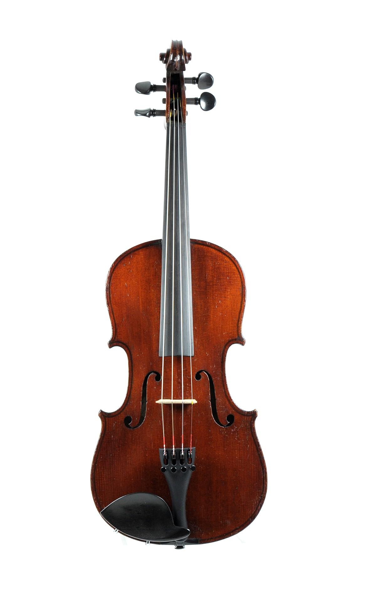 Maidstone violin, Murdoch & Co. London approx. 1900 - top