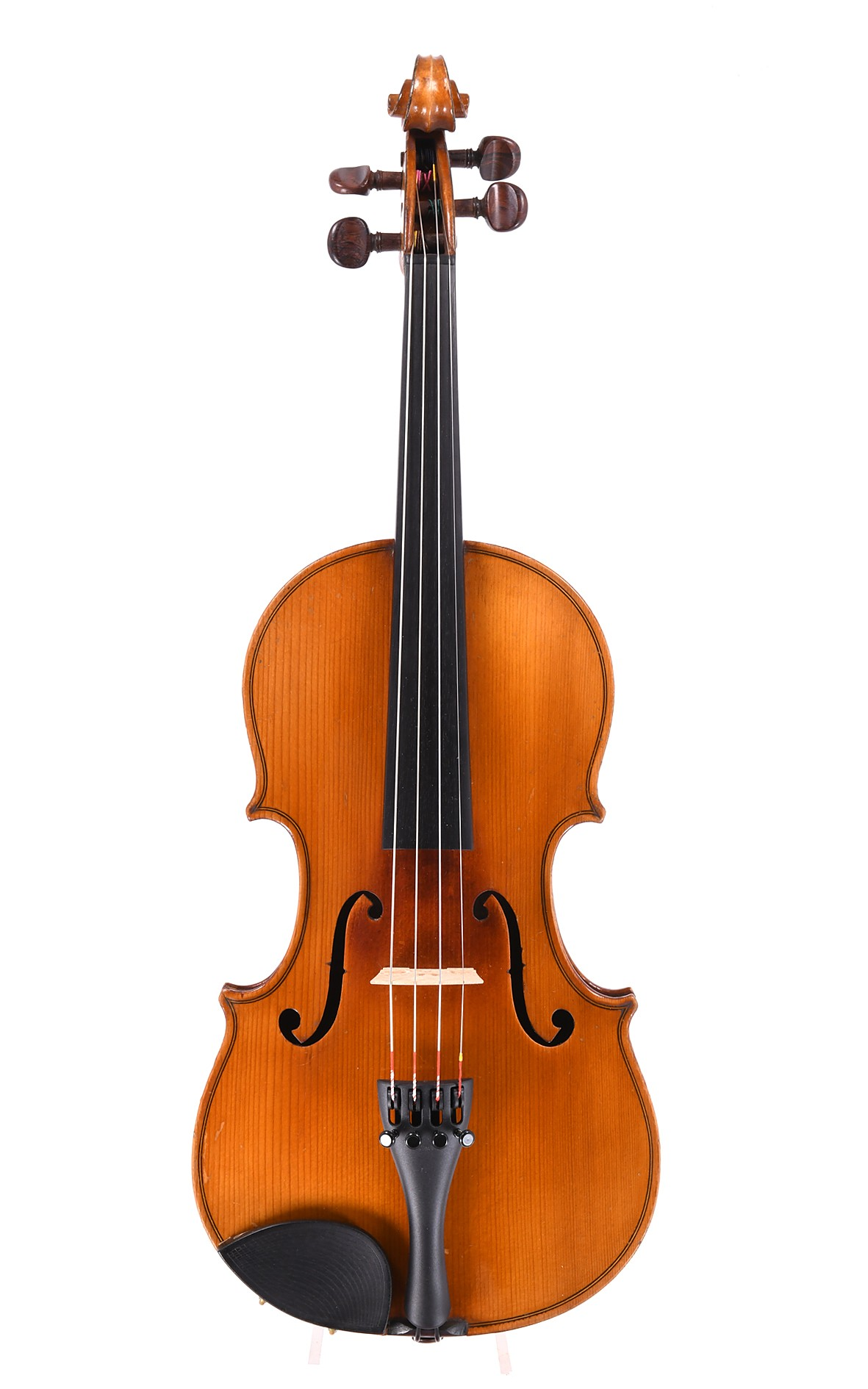 French JTL 3/4 violin - one piece top
