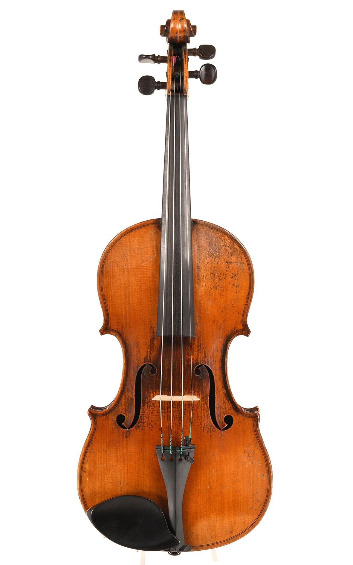 Rare violin by Nicolas Mauchant-Vaudel, circa 1840