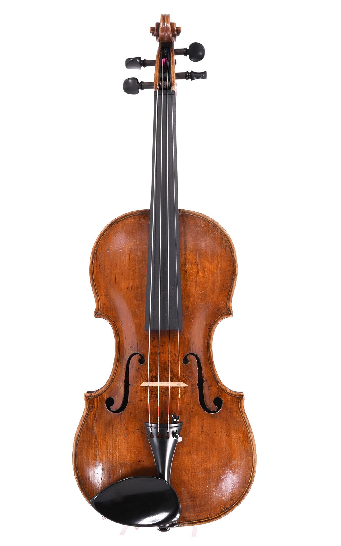Rare English violin by John Crowther, Holburn, London, 1788