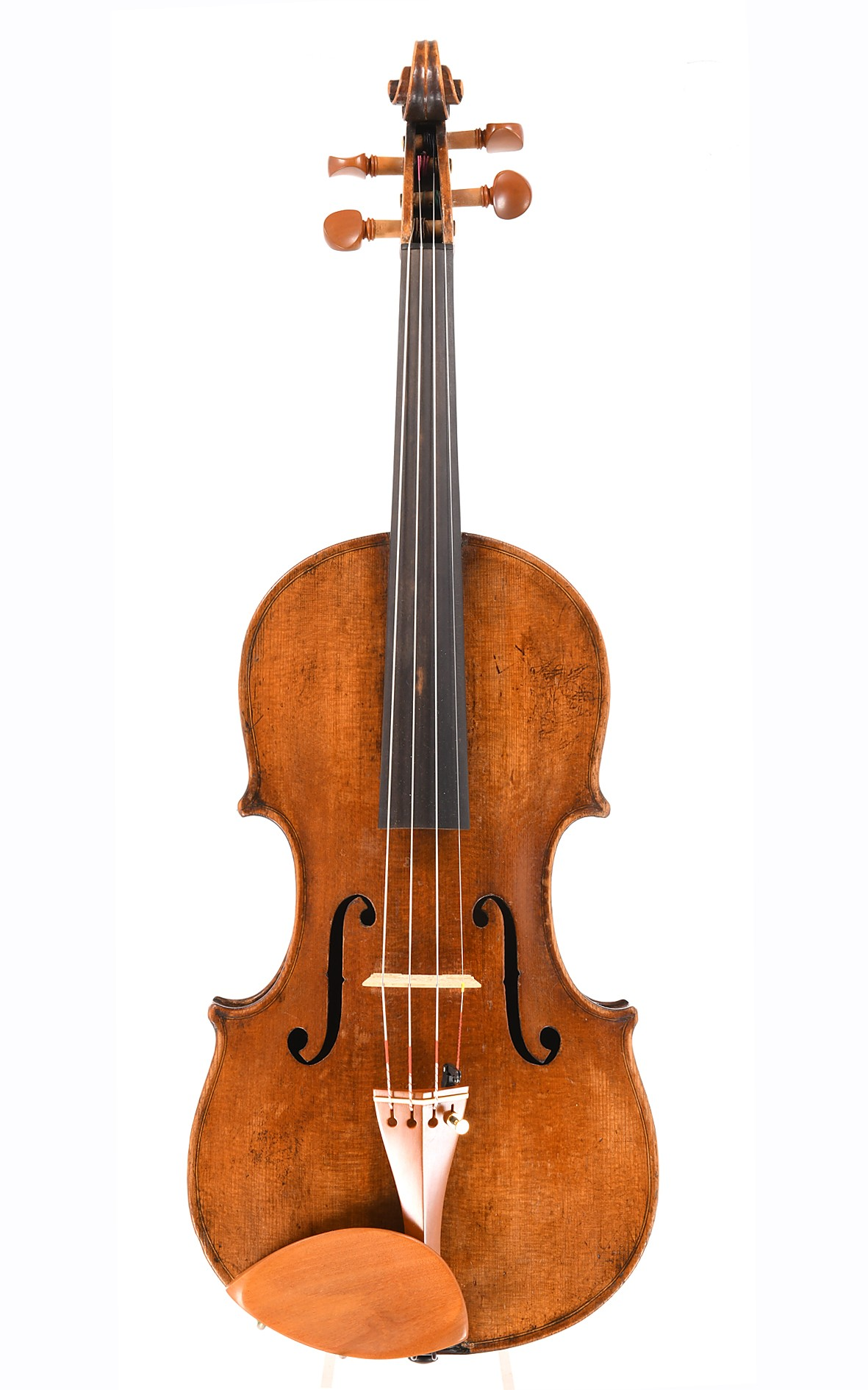 Antique violin from Saxony, after Antonio Stradivari - top