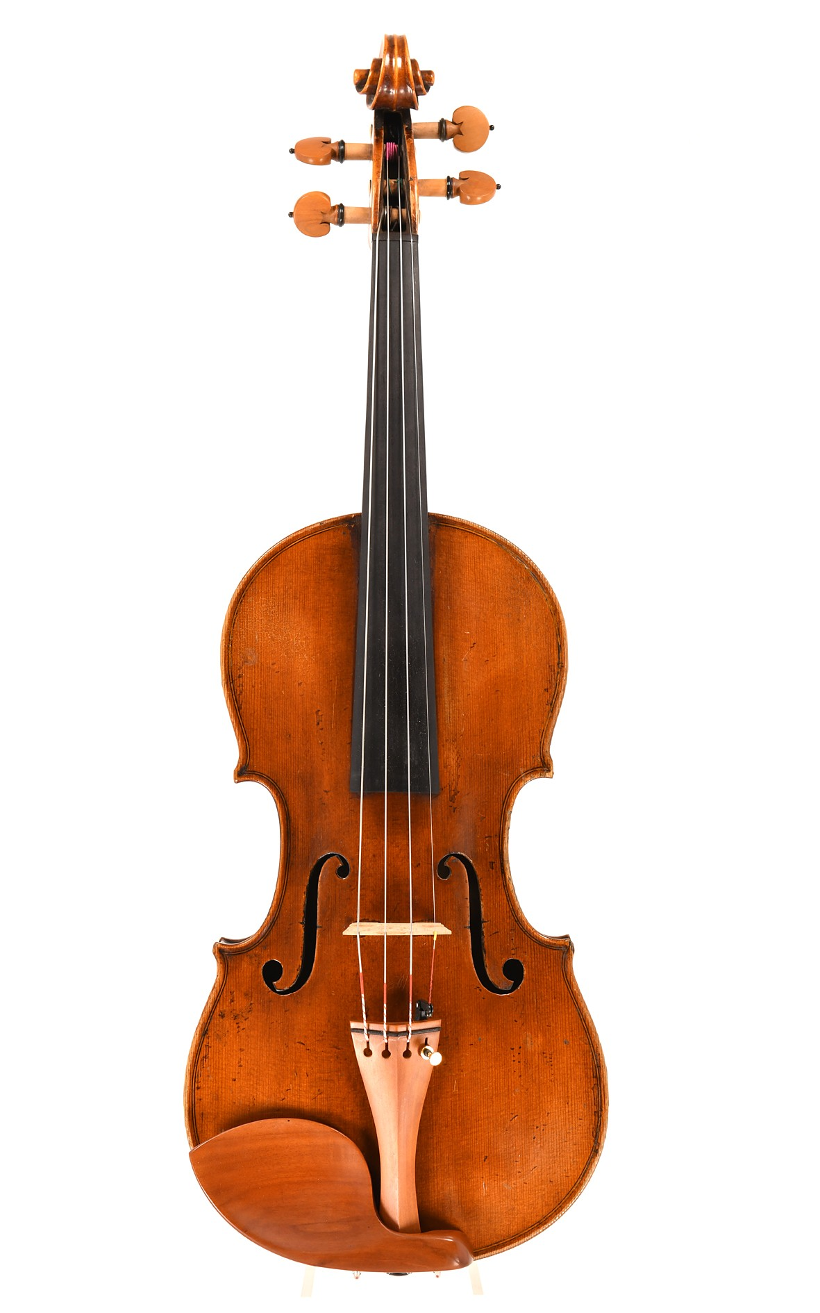 Antique Bohemian violin - top