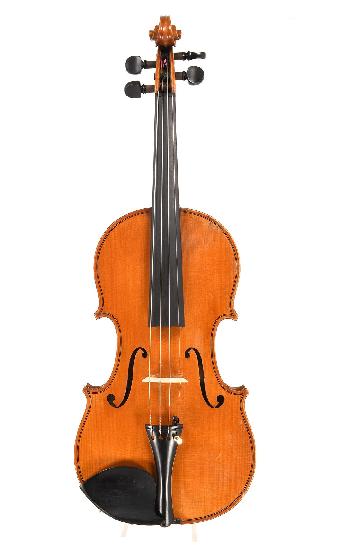 Old Mirecourt violin, made circa 1920