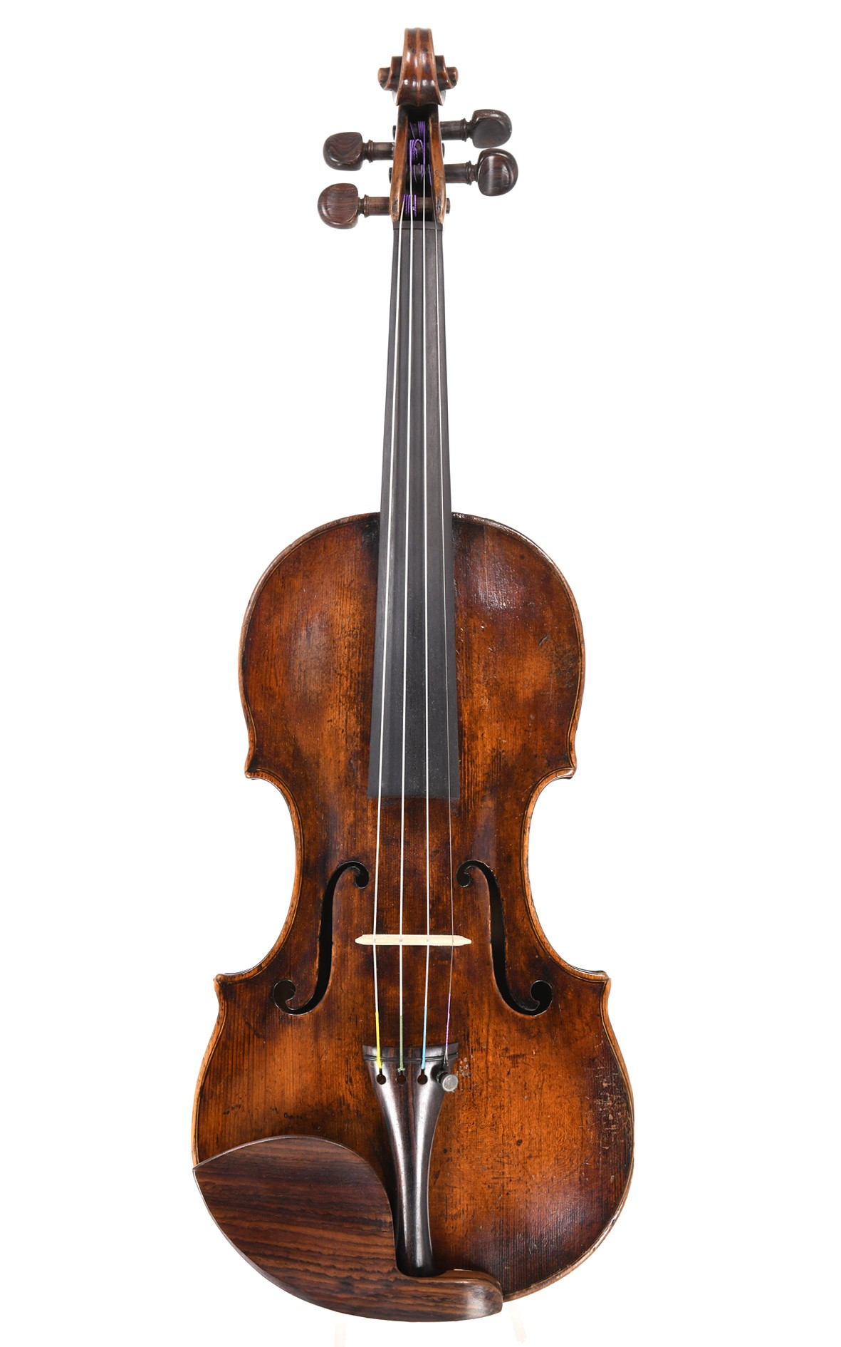 Interesting English master violin, circa 1800