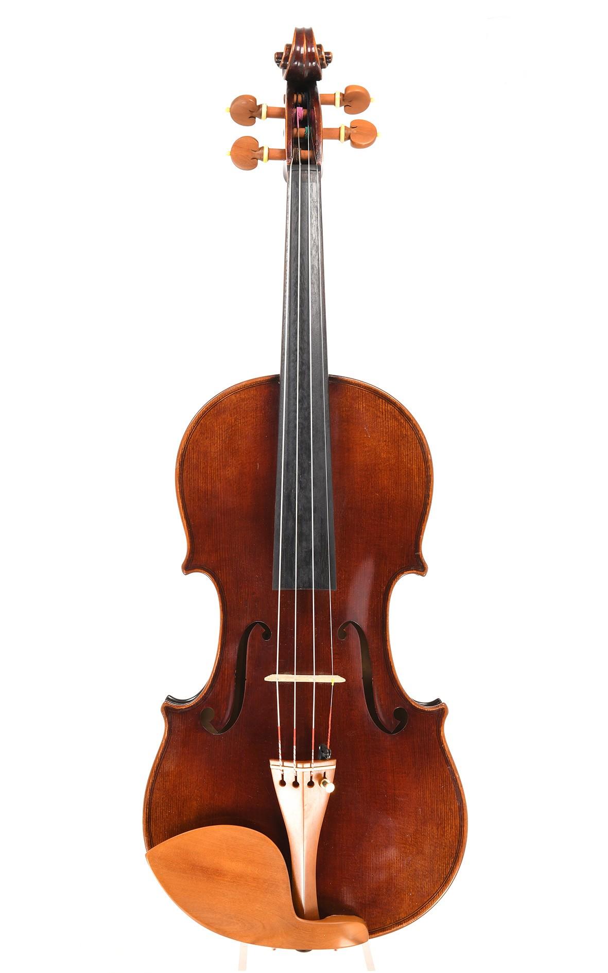Markneukirchen violin. Max & Ernst Fischer, 1945