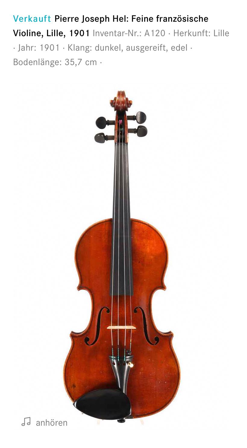 Piere Joseph Hel Violine