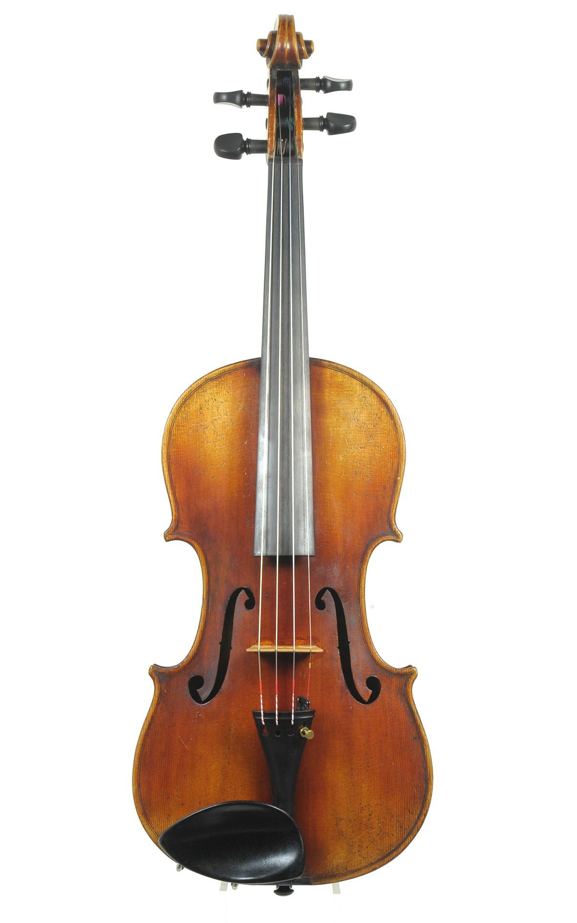 German violin after Guarnerius, c.1890 Lowendall workshop