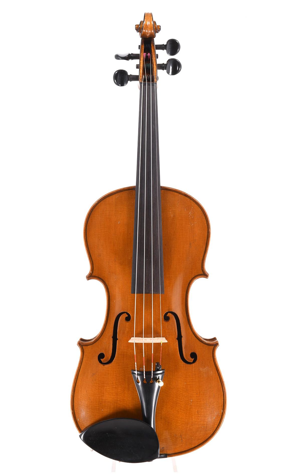 Deutsche Geige, 19. Jahrhundert um 1870