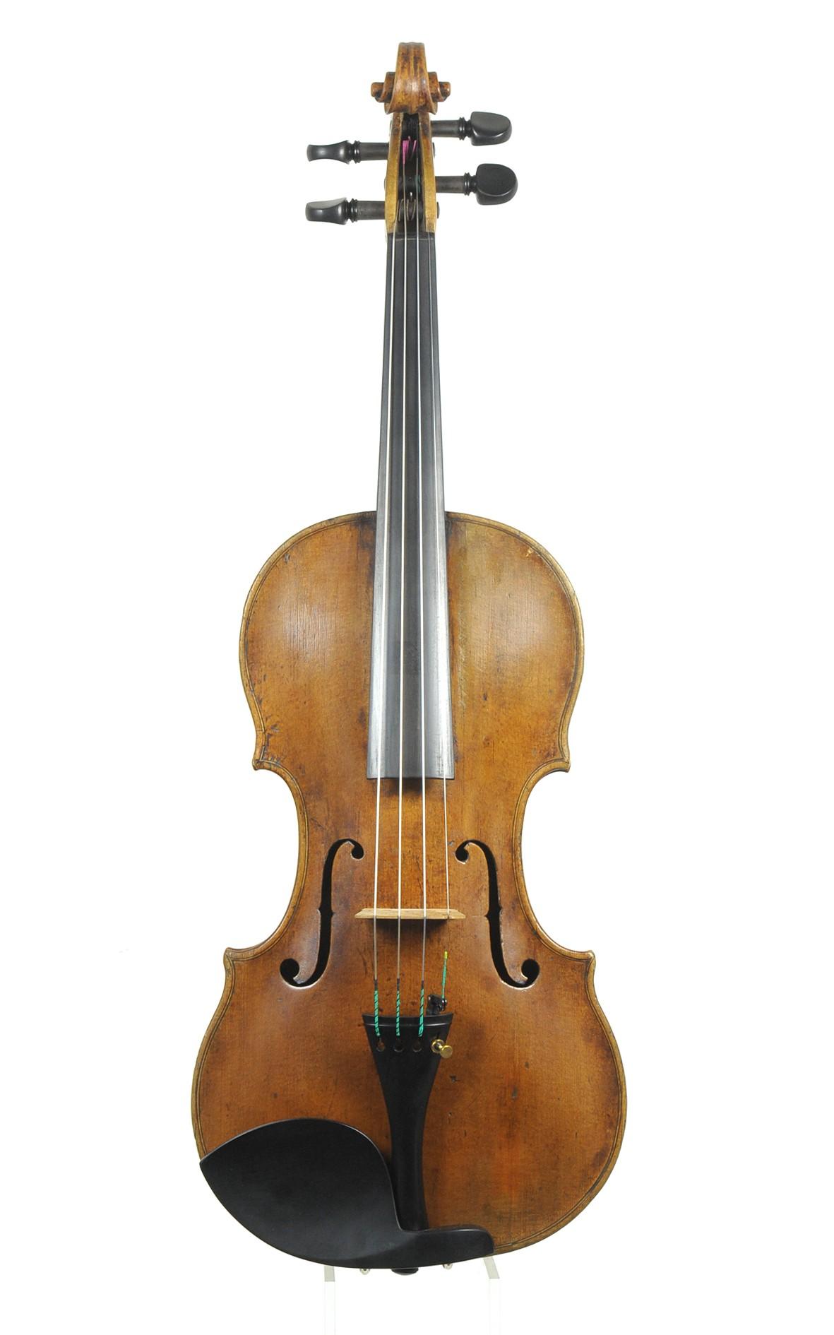Fine Mittenwald master violin, circa 1740, Sebastian Klotz circle