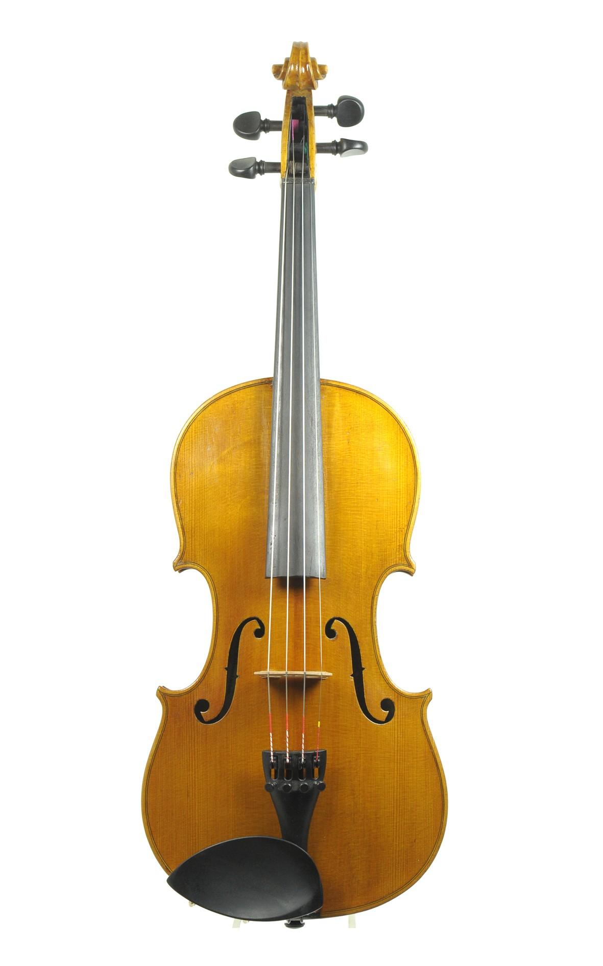 Old violin of Markneukirchen, Wilhelm Kruse
