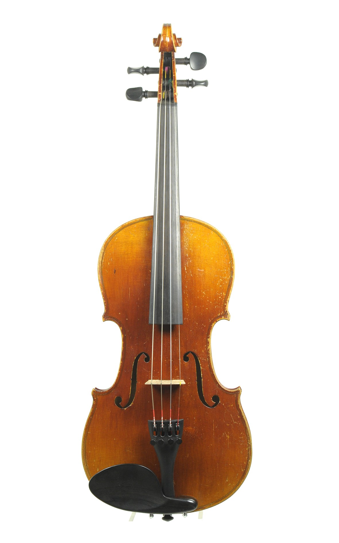 Mittenwald 3/4 violin, approx. 1880 - top