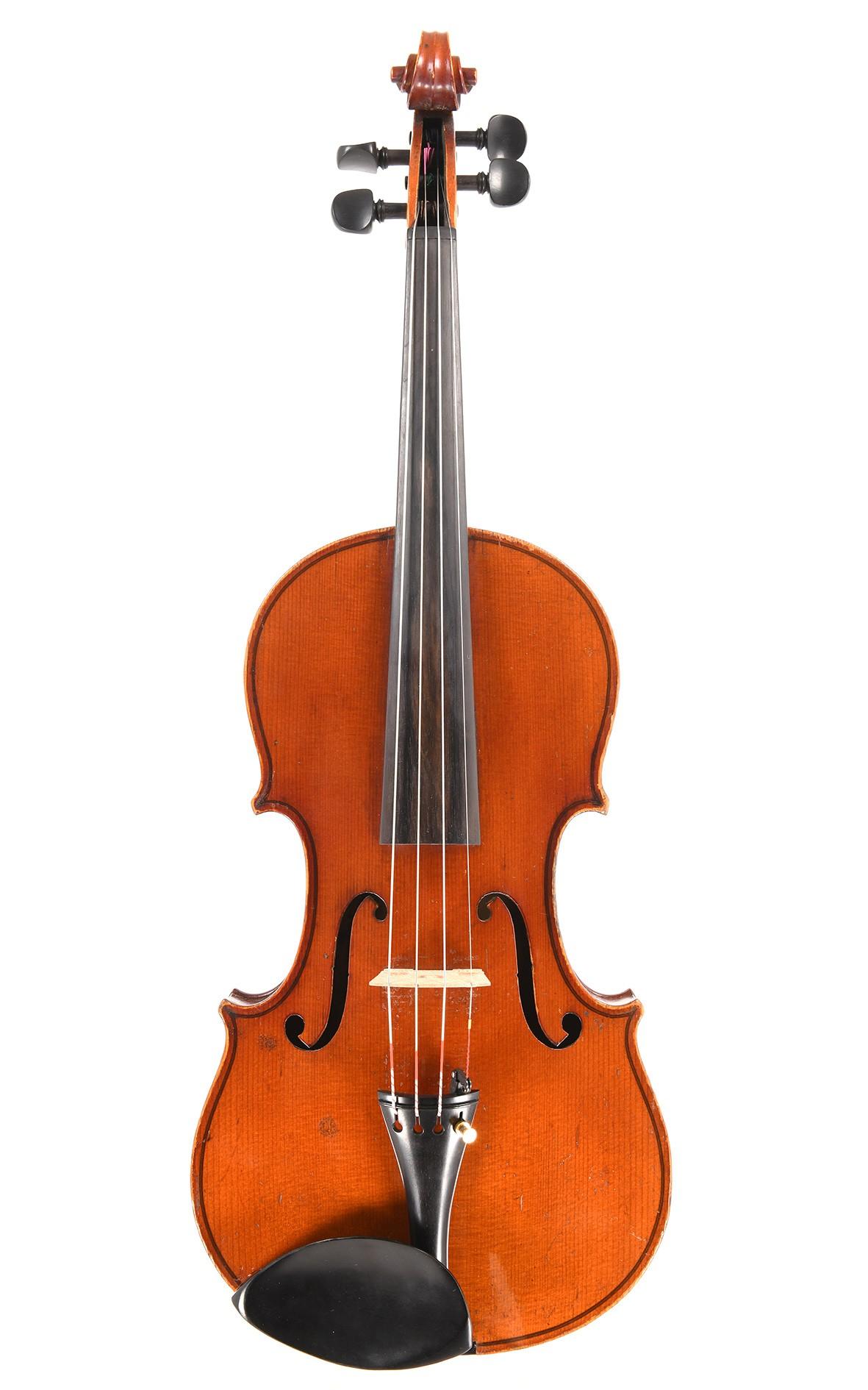 German violin from Markneukirchen, Saxony
