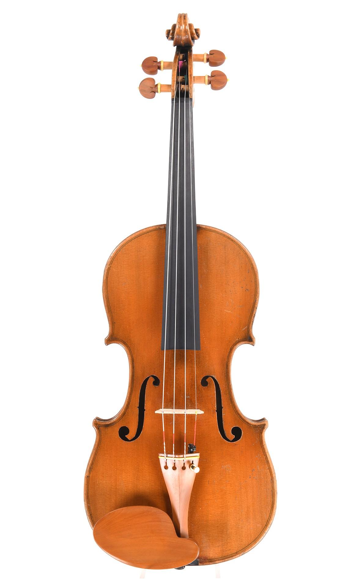 Antike Violine von Schuster & Co., Markneukirchen - Decke