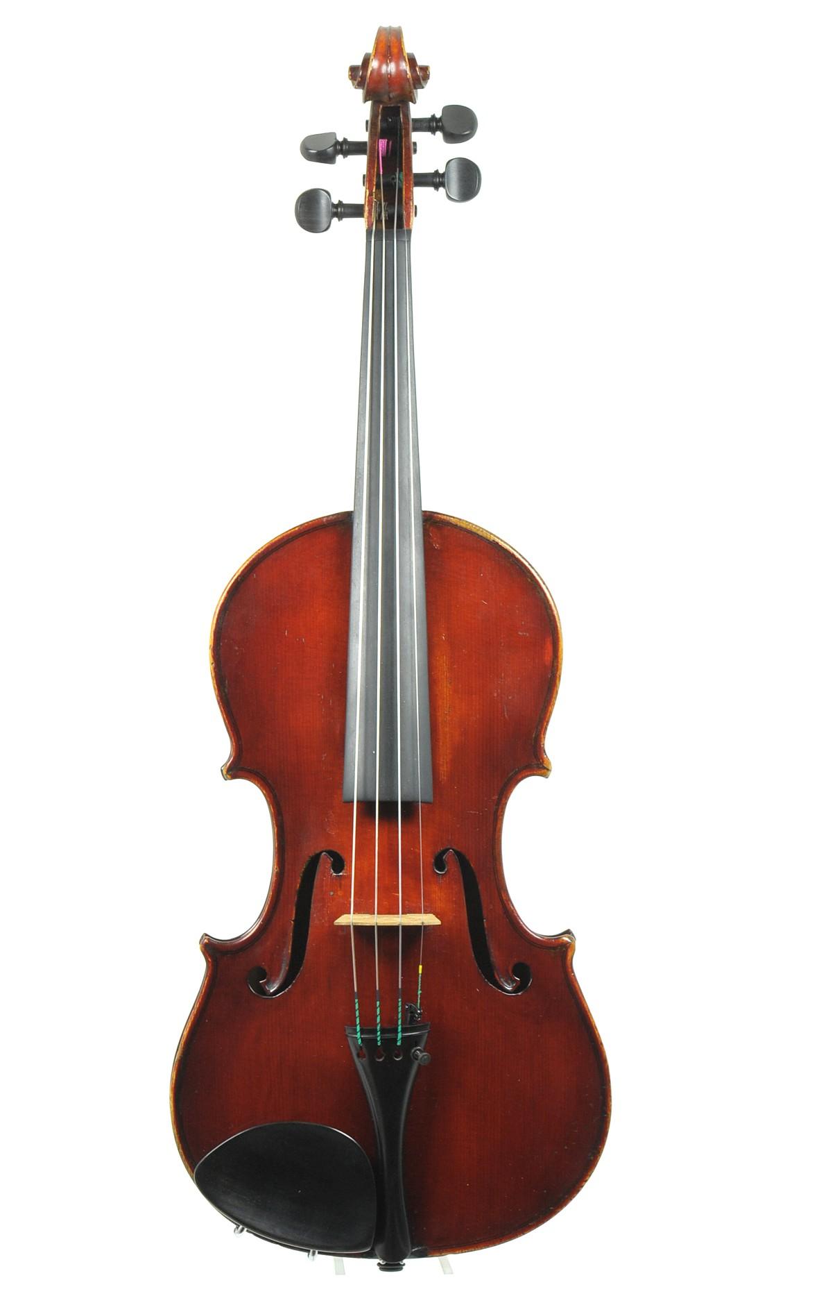 Italian violin, Officina Claudio Monteverdi, Cremona - top