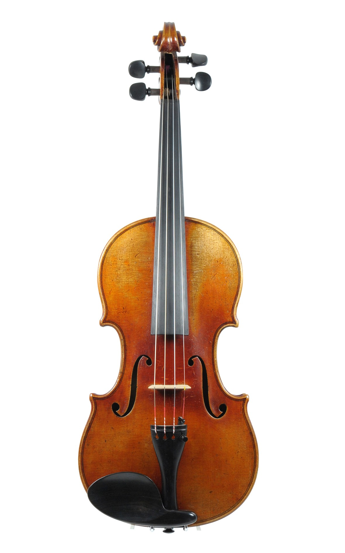 Ernst Reinhold Schmidt violin ca. 1910 - top