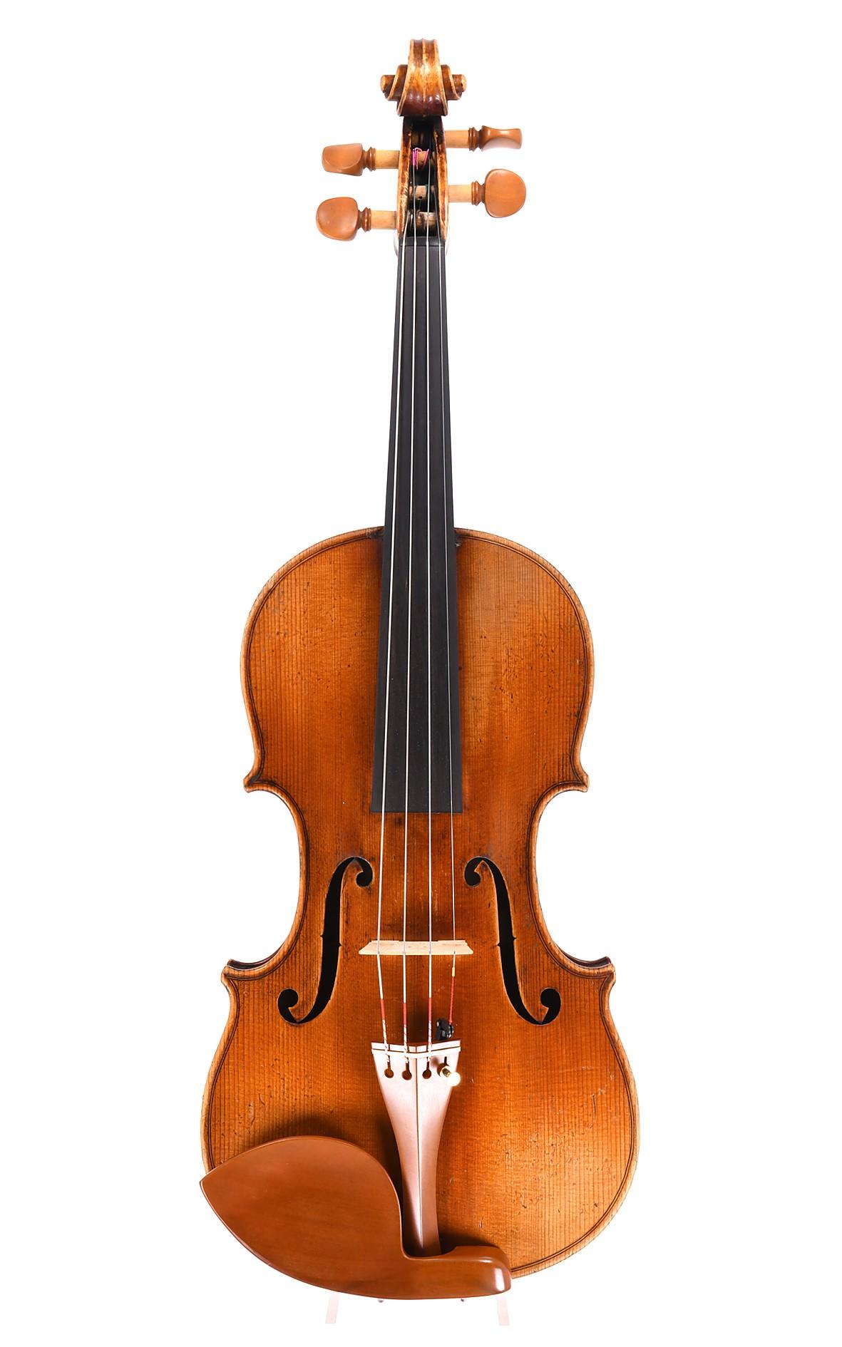 Louis Lowendall (Löwenthal) - Geige nach Stradivari, Dresden um 1880 - Decke