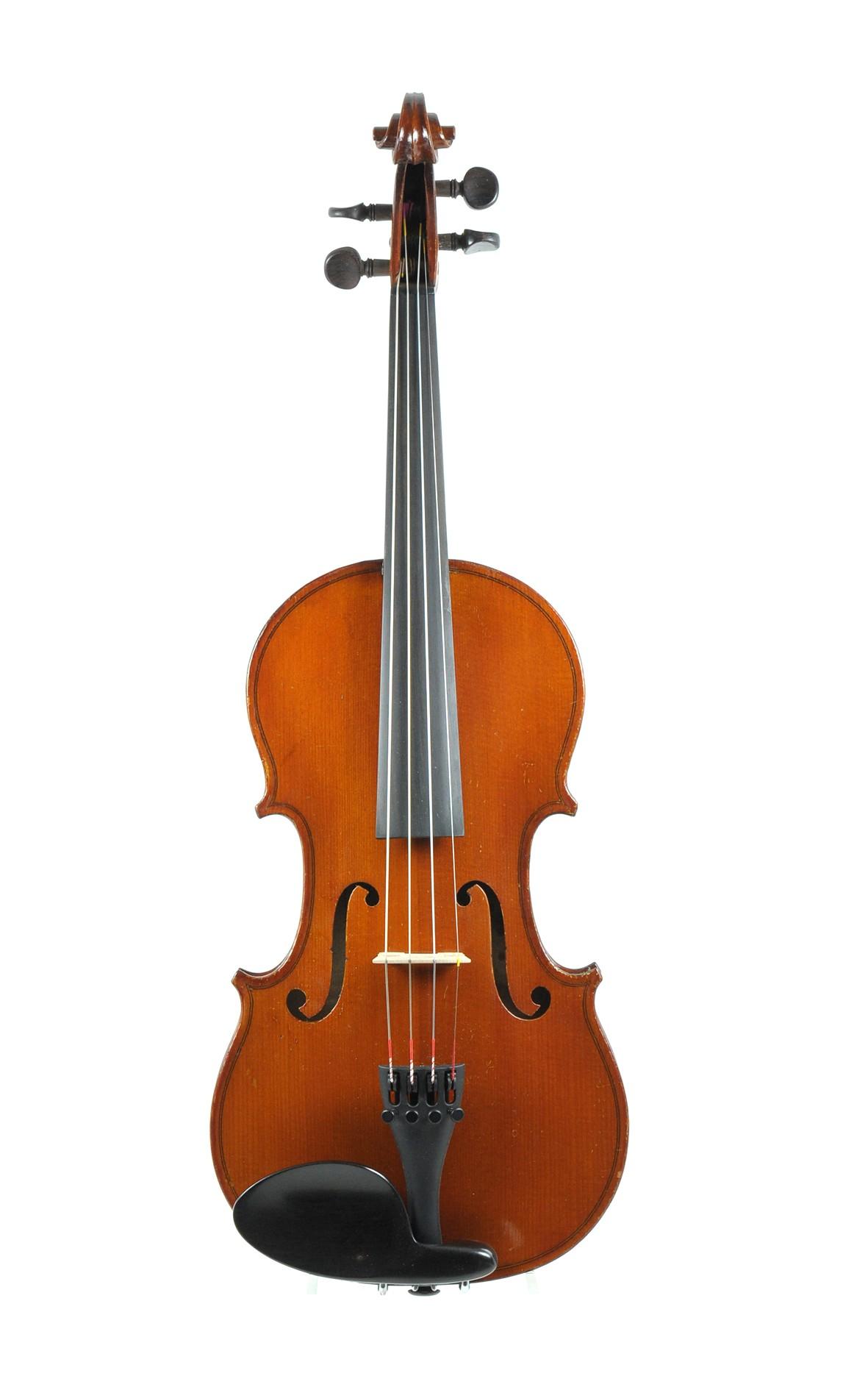 H. Blaise, 3/4 violin, Mirecourt approx. 1910 - top