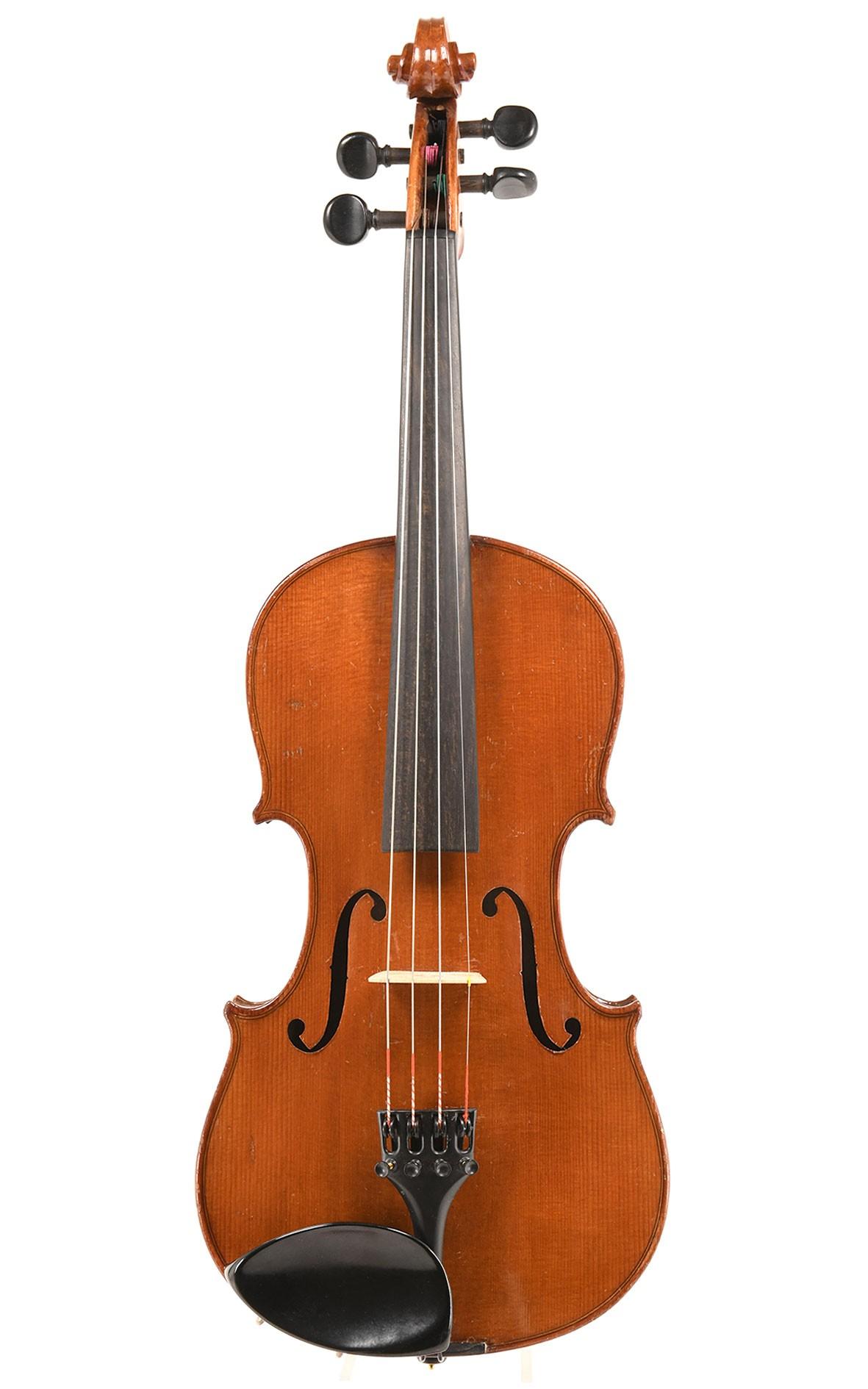 Antique violon allemand, Markneukirchen, d'après Stradivarius