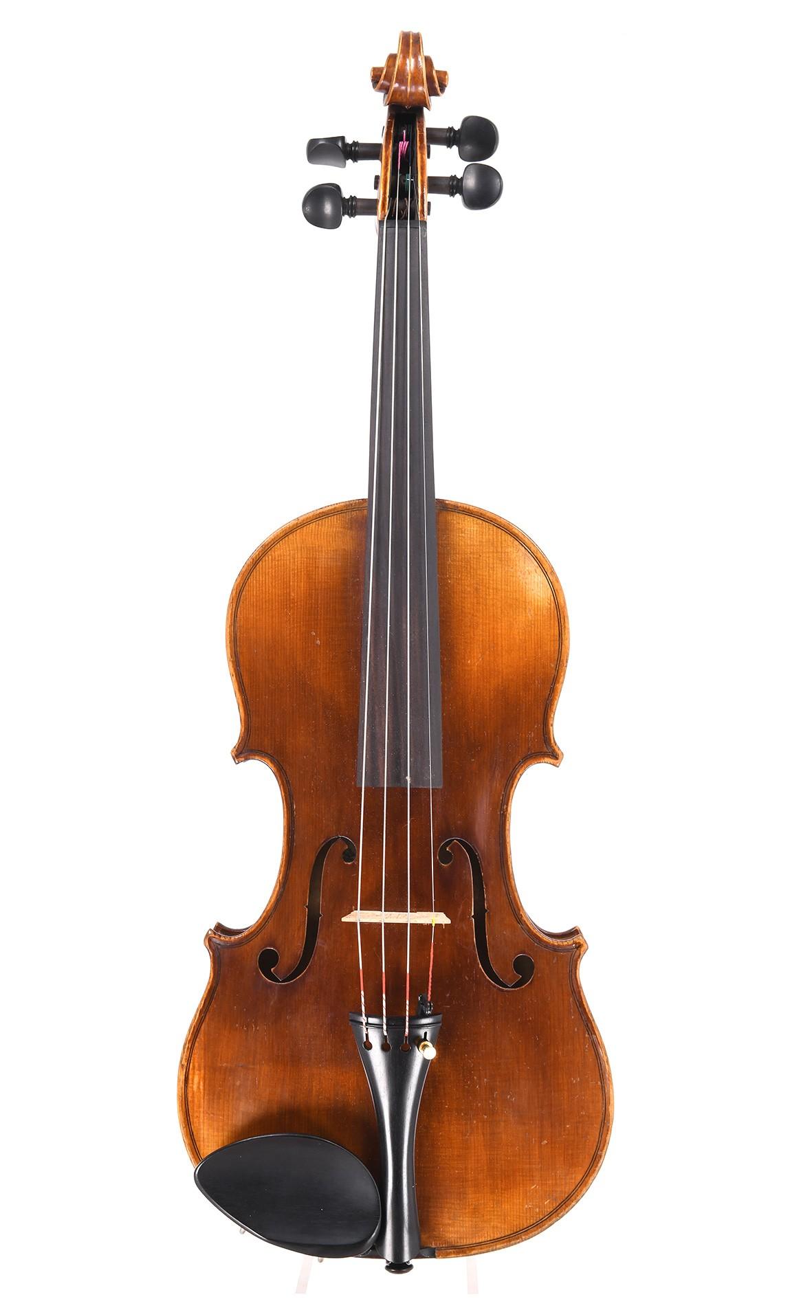 Mittenwalder Geige von Georg Tiefenbrunner um 1890/1900