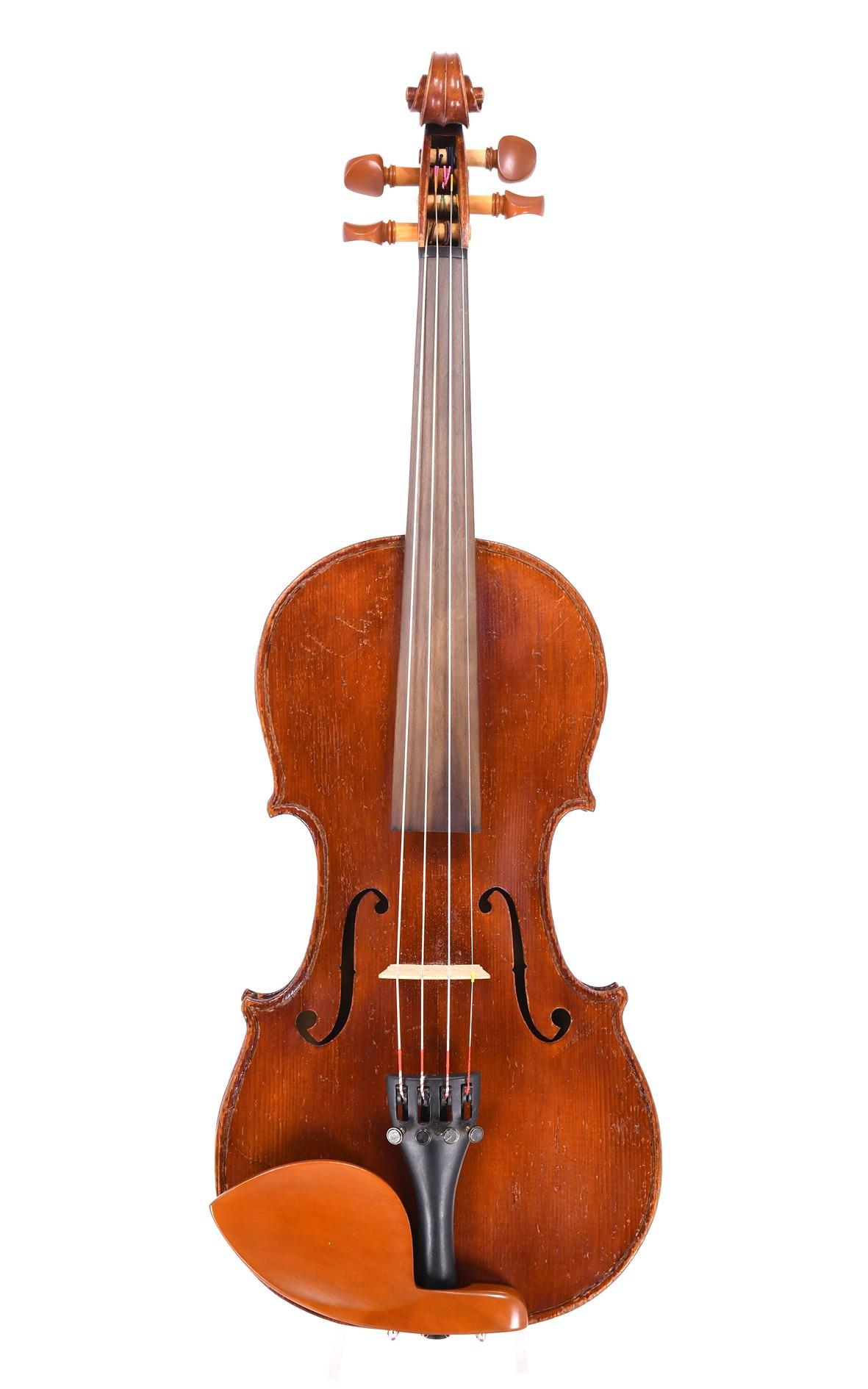 Antike Mittenwalder 3/4 Geige um 1880