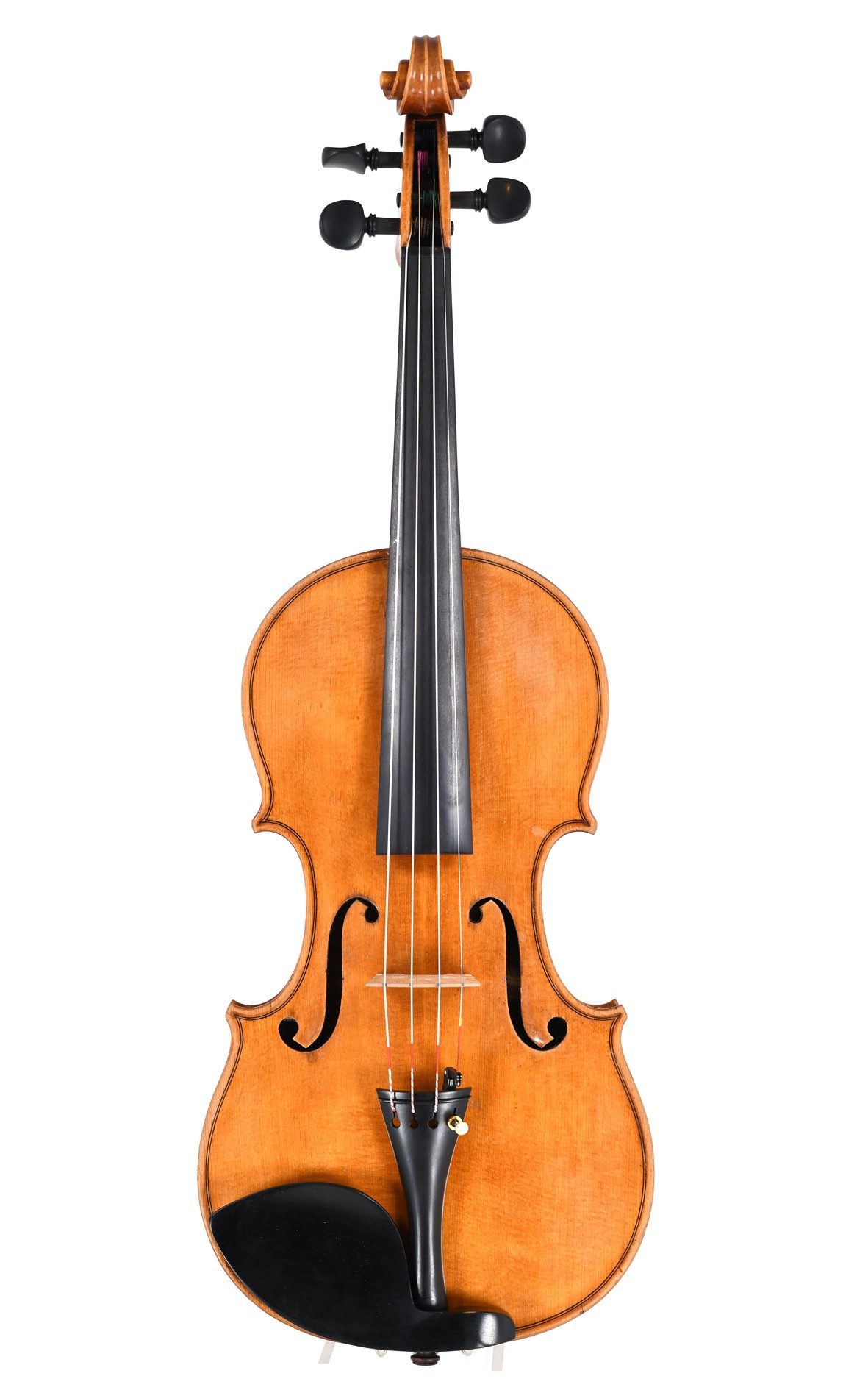 Violin from England, approx. 1950 - top