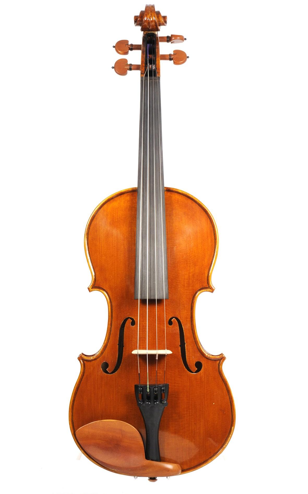GEWA violin Mittenwald 2002 - top view