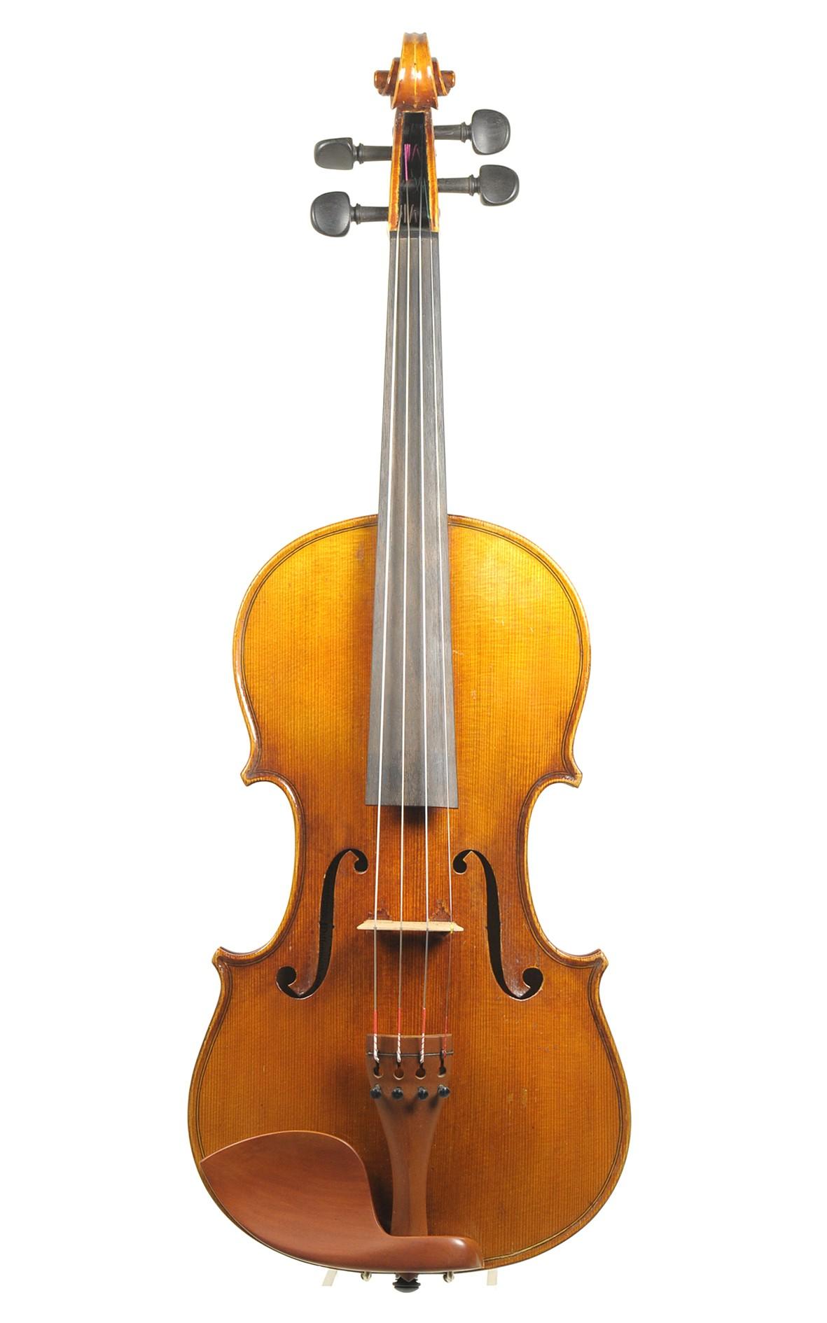 Geige von Josef Rieger, 1927, Mittenwald