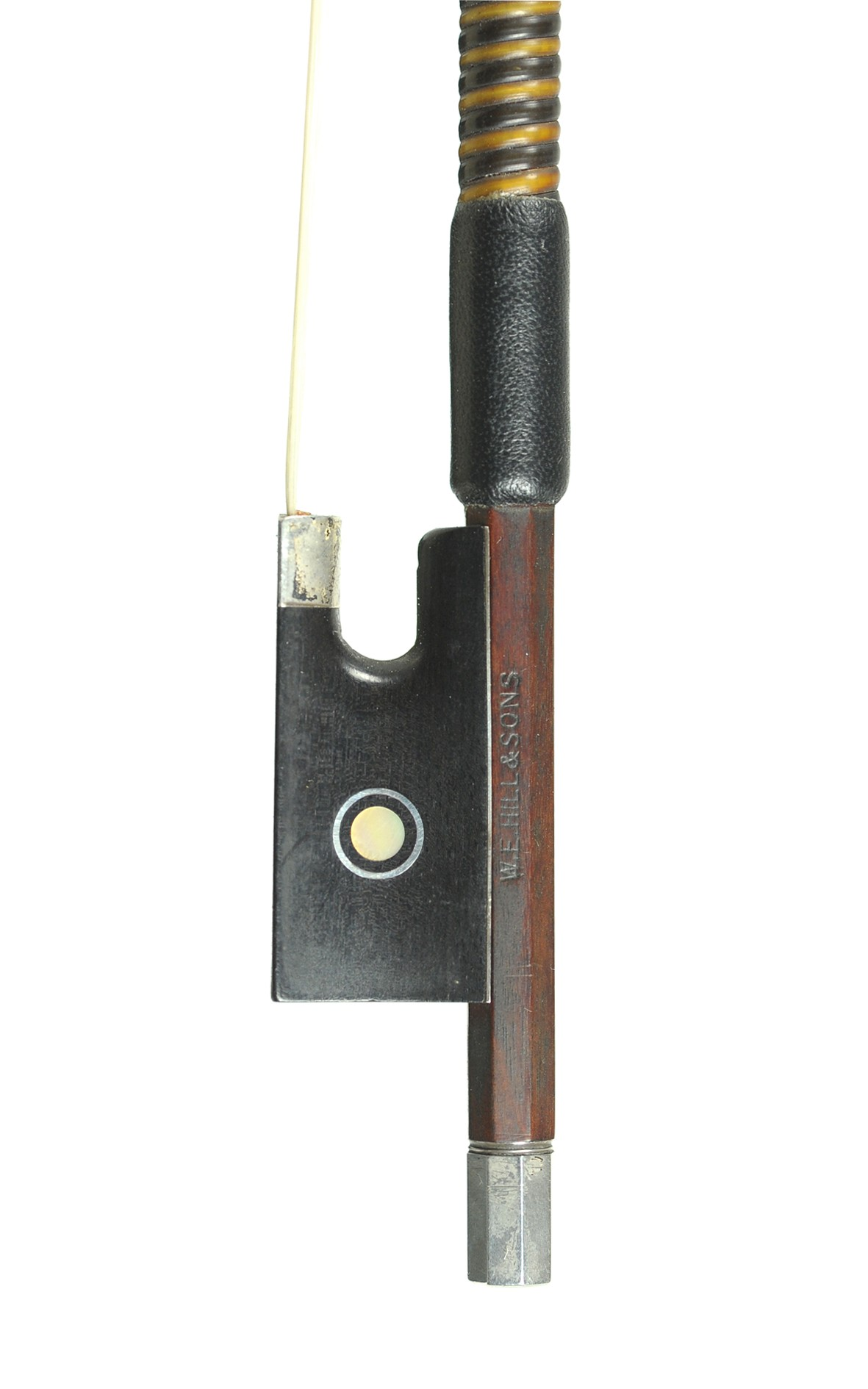 WE Hill & Sons violin bow