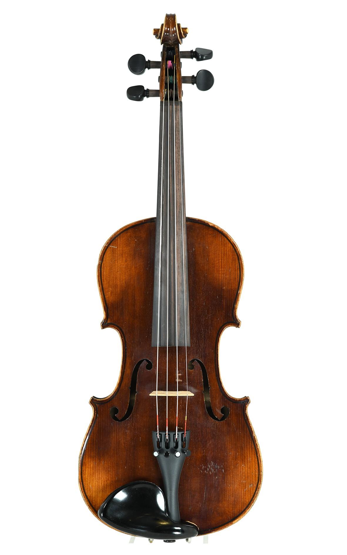 Hübsche deutsche 3/4 Violine um 1930