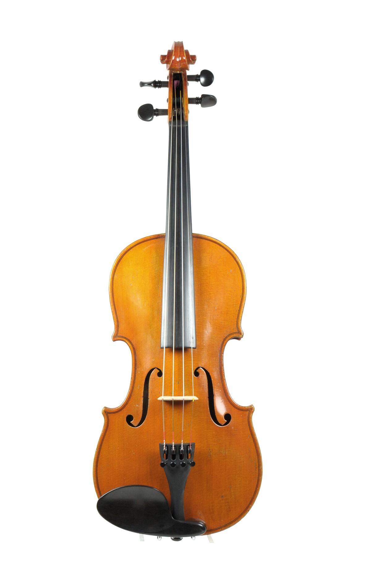 Eberhard Meinel MUSIMS master violin 1966 - top