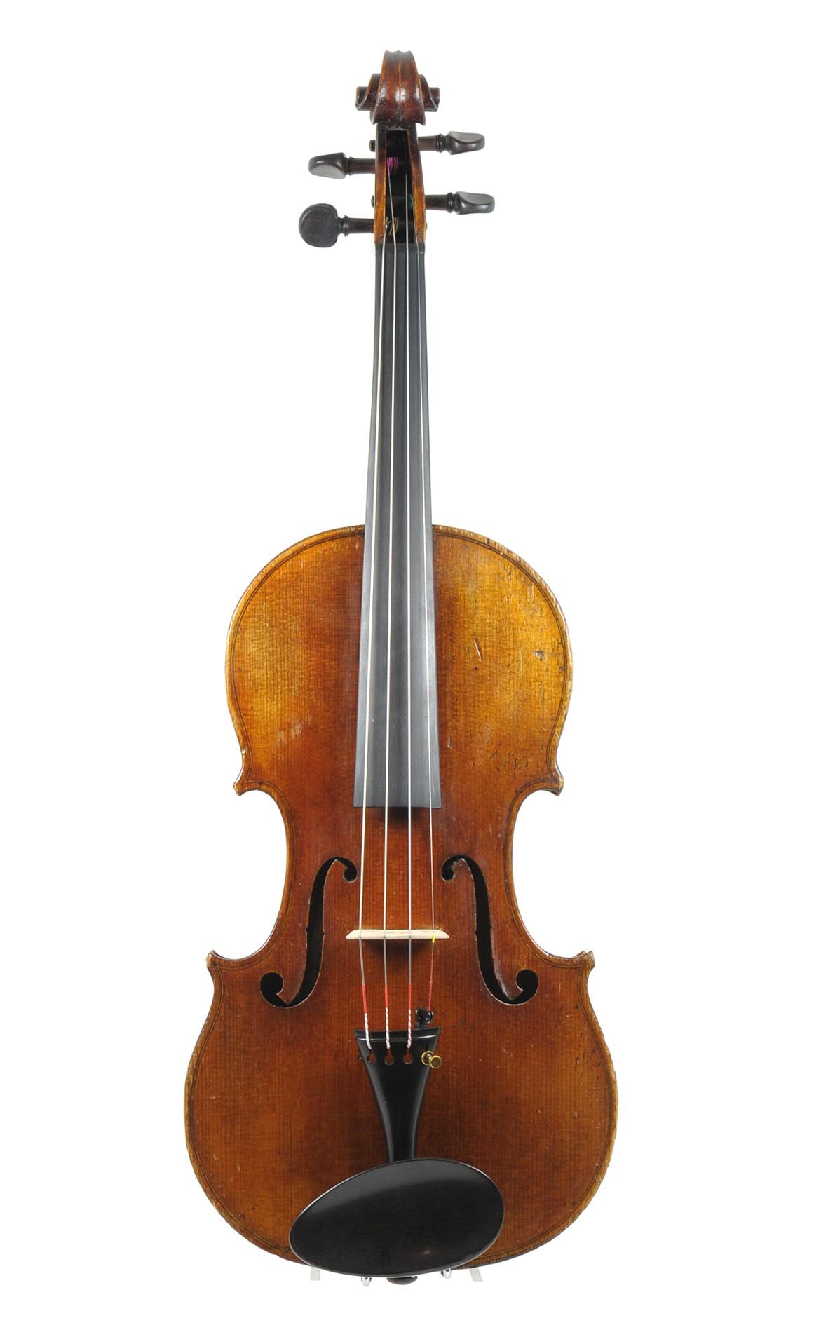 Georges Adolphus Chanot, violin No. 79 - top