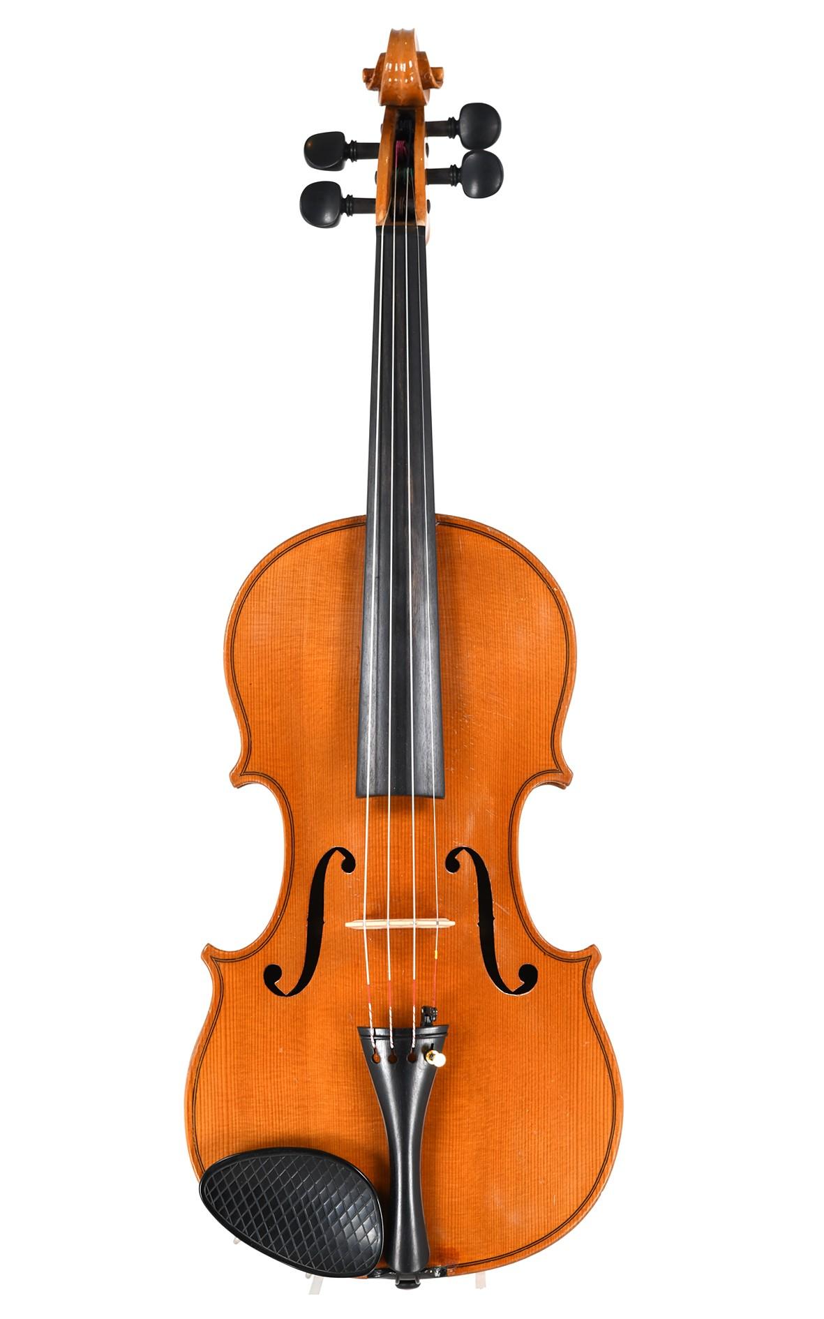Meinel & Herold Klingenthal violin approx. 1950 - top