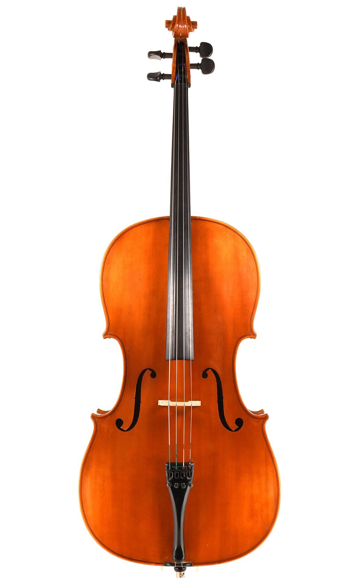 Mittenwald Cello von Benedikt Lang - Decke aus regelmäßiger Fichte