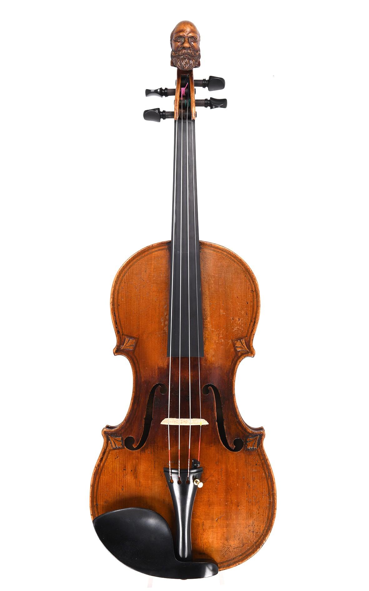 H. Derazey Violine nach dem Tiefenbrucker Modell