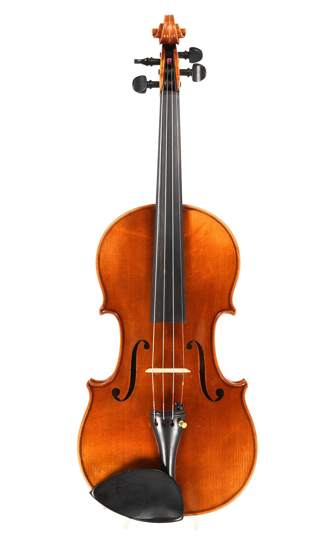 Mittenwalder Geige von Max Hofmann - Decke aus Haselfichte