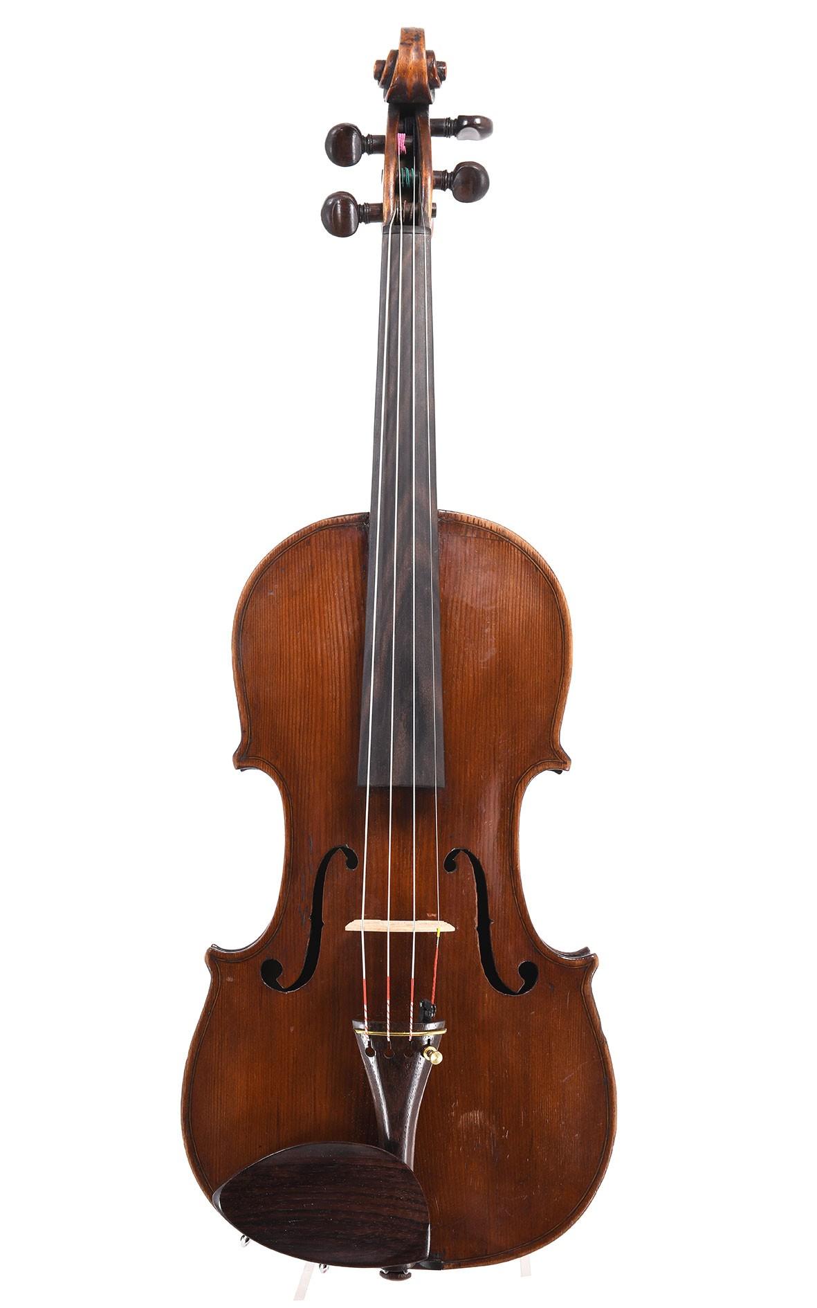 Englische Geige, 19. Jahrhundert