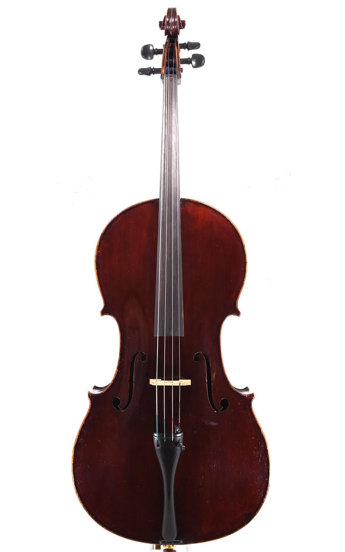 Feines Mittenwalder Cello um 1850