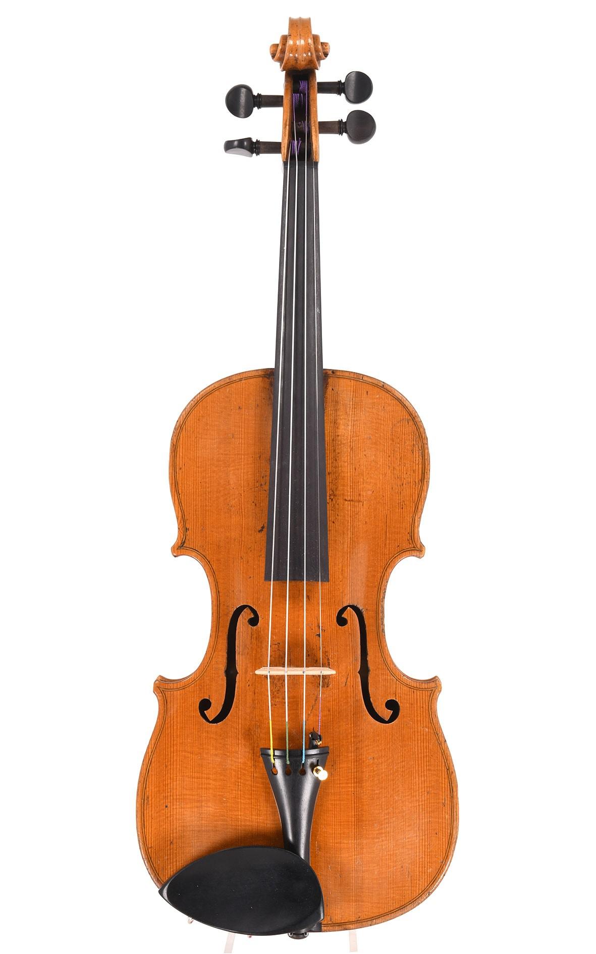 David Christian Hopf jun., vogtländische Geige