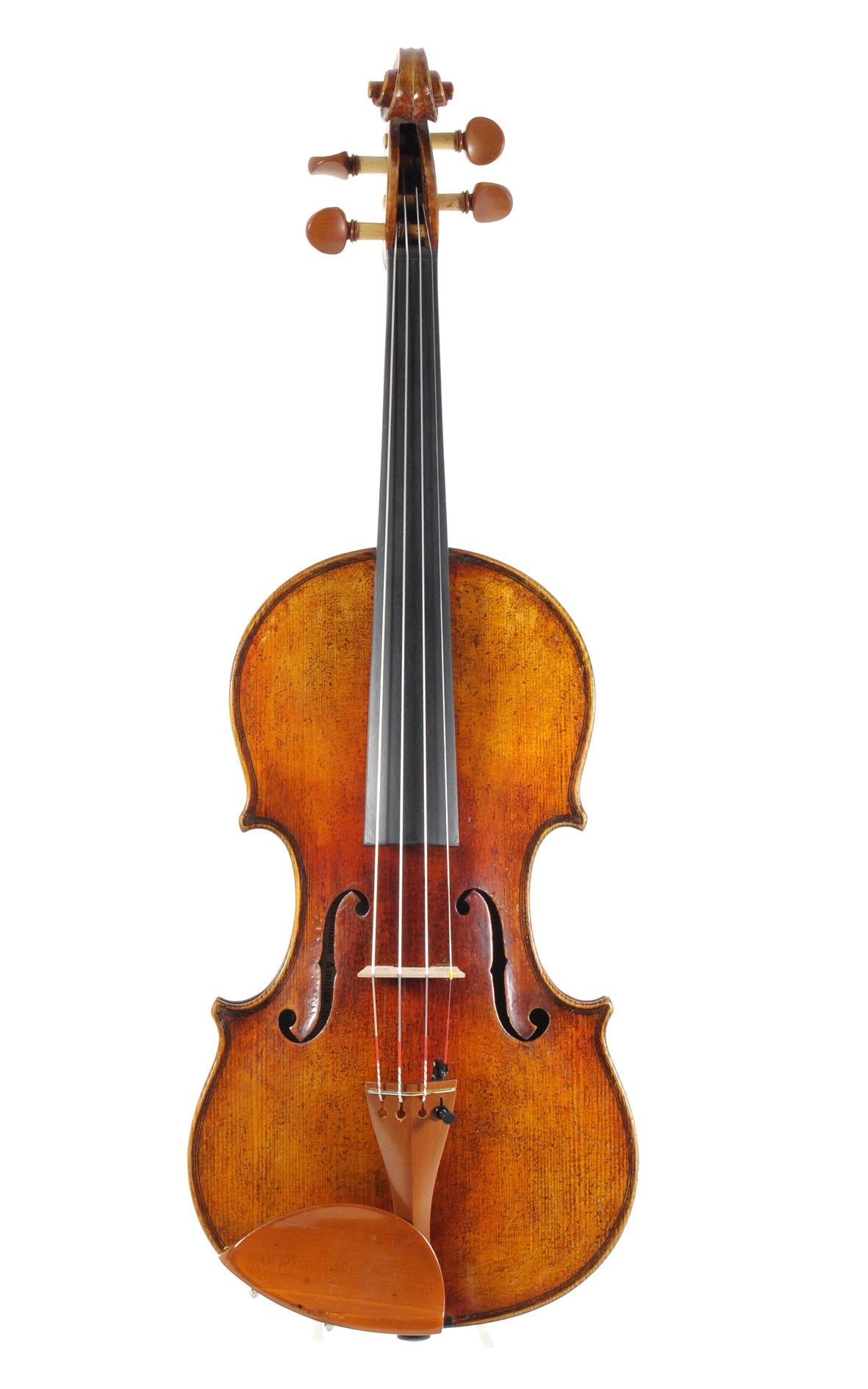 Amati-Kopie, Geige aus Sachsen um 1900