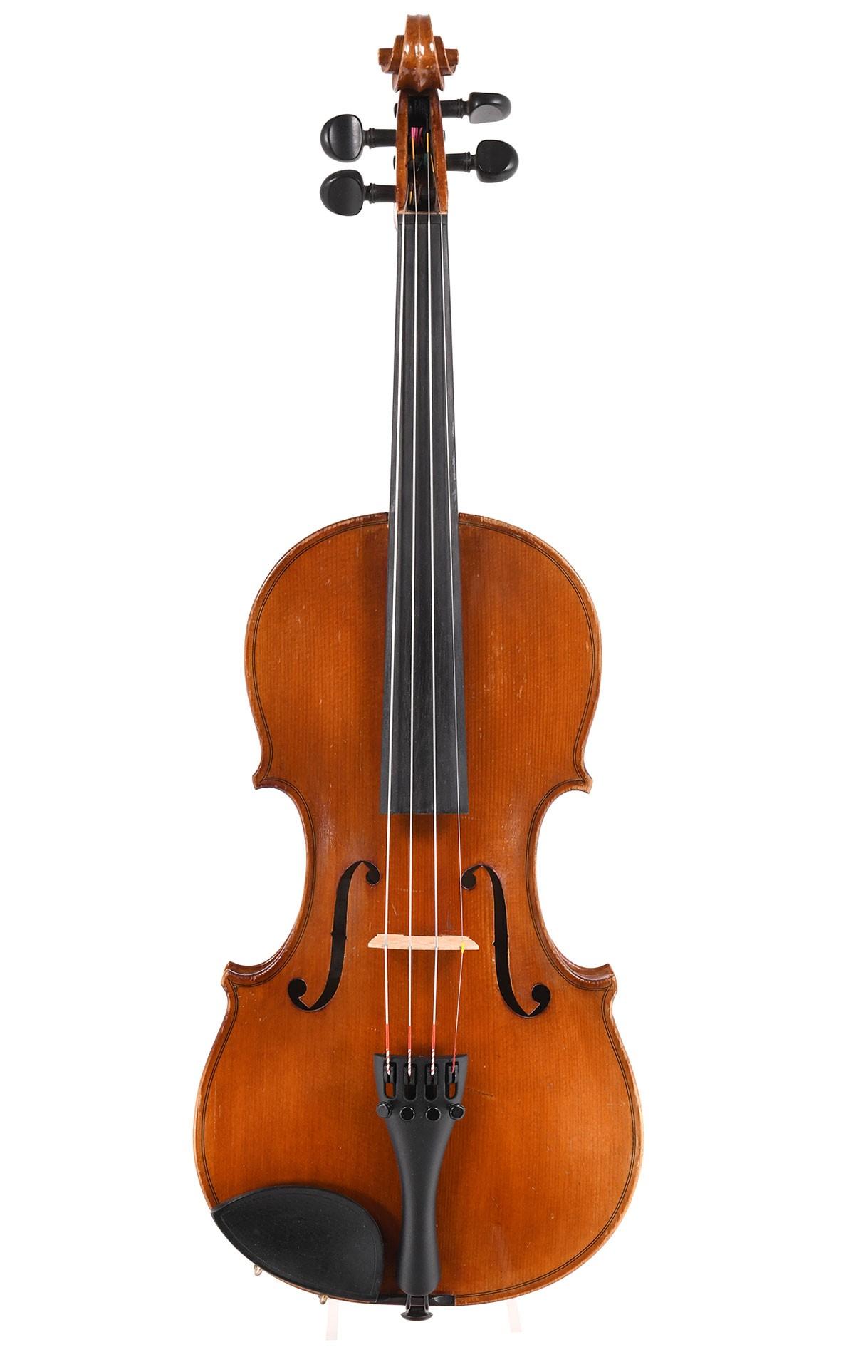 Alte 3/4 Geige aus Mittenwald von Leo Aschauer, 1950