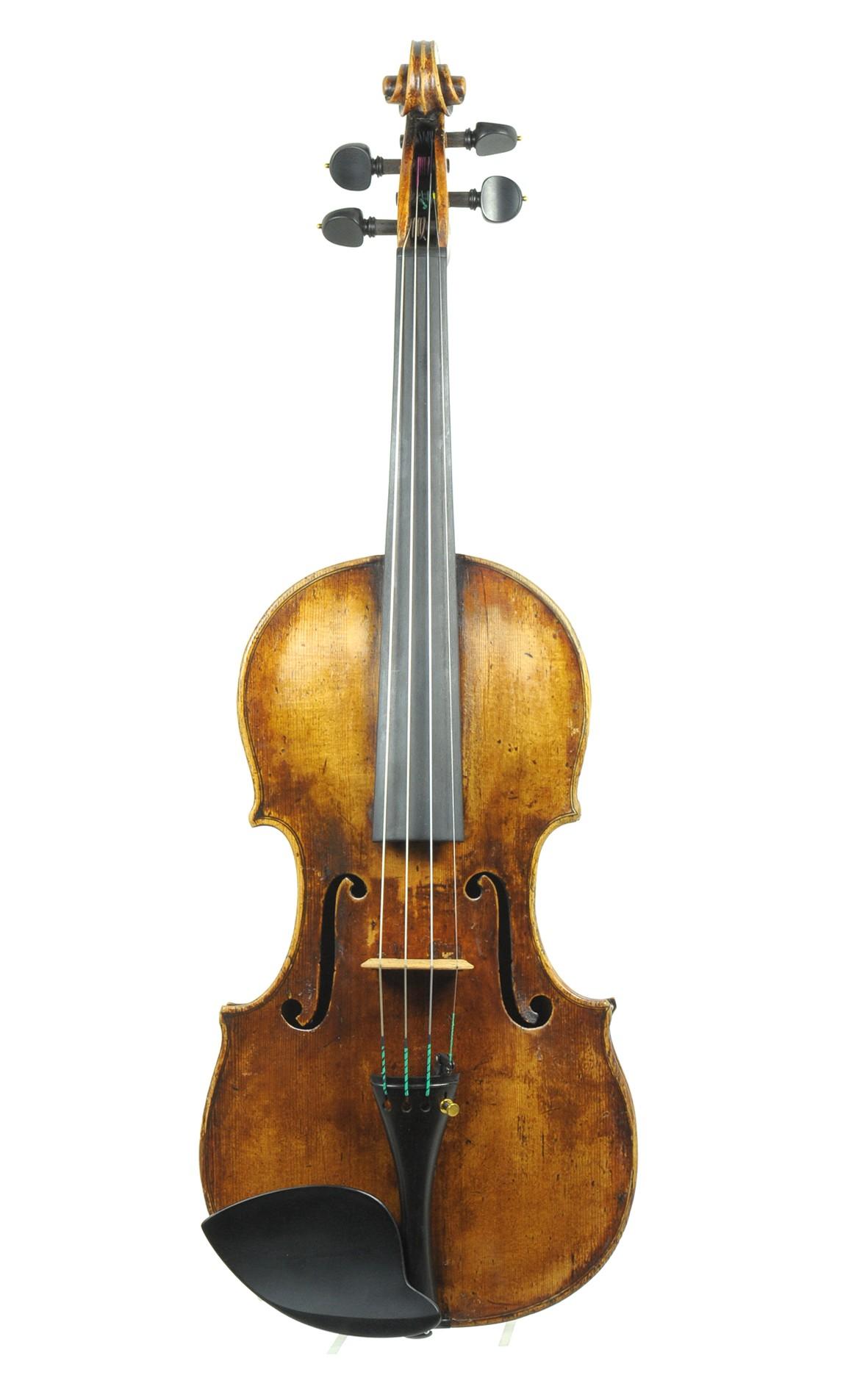 Bartholomäus Karner school, violin of Mittenwald