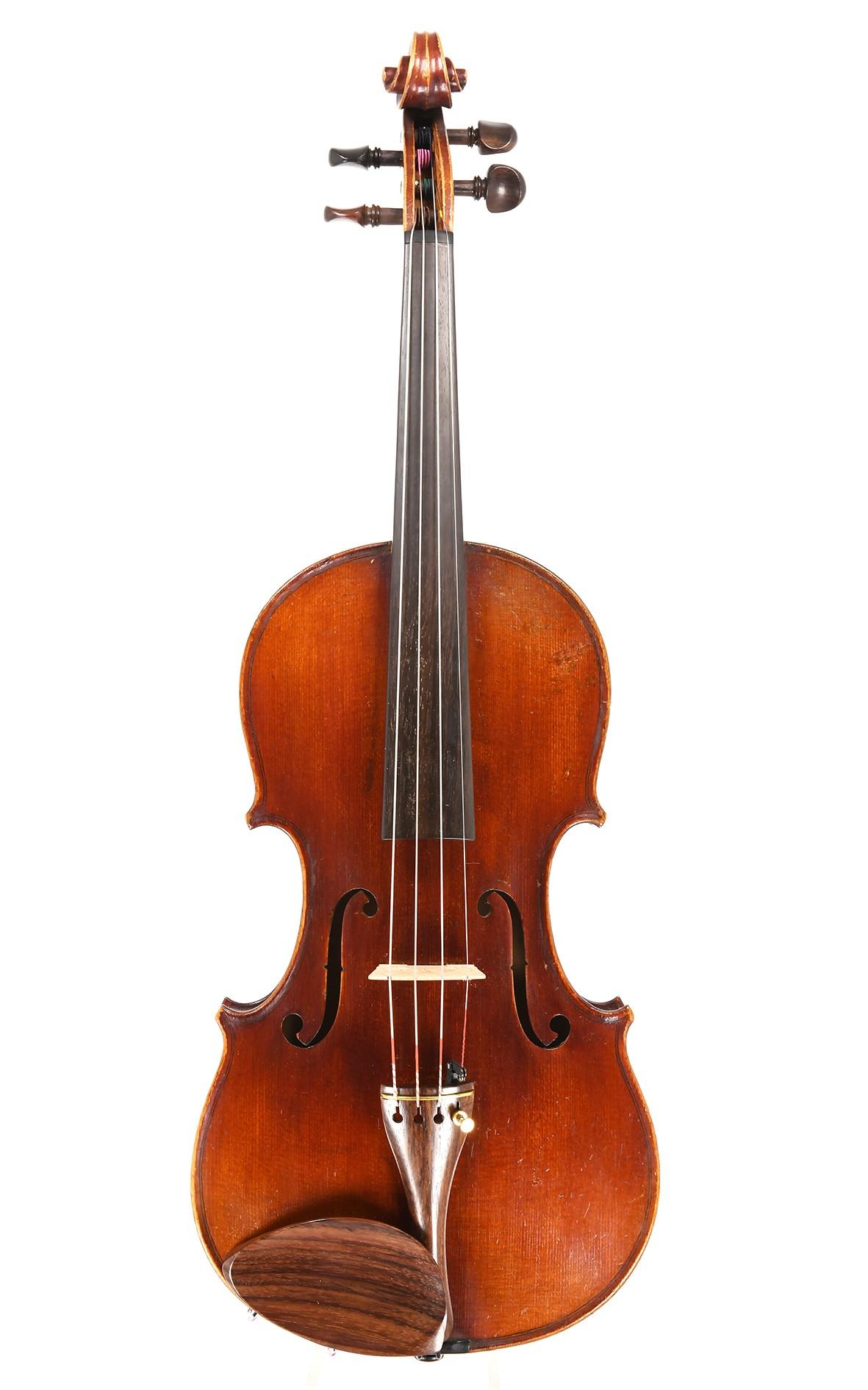 Antike Mittenwalder Geige um 1880