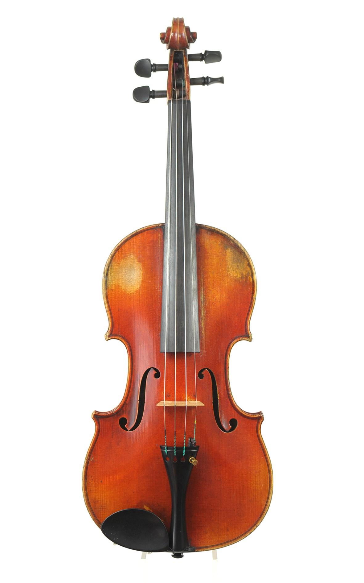 Fine violin by Alexandre Delanoy, Bordeaux, 1900