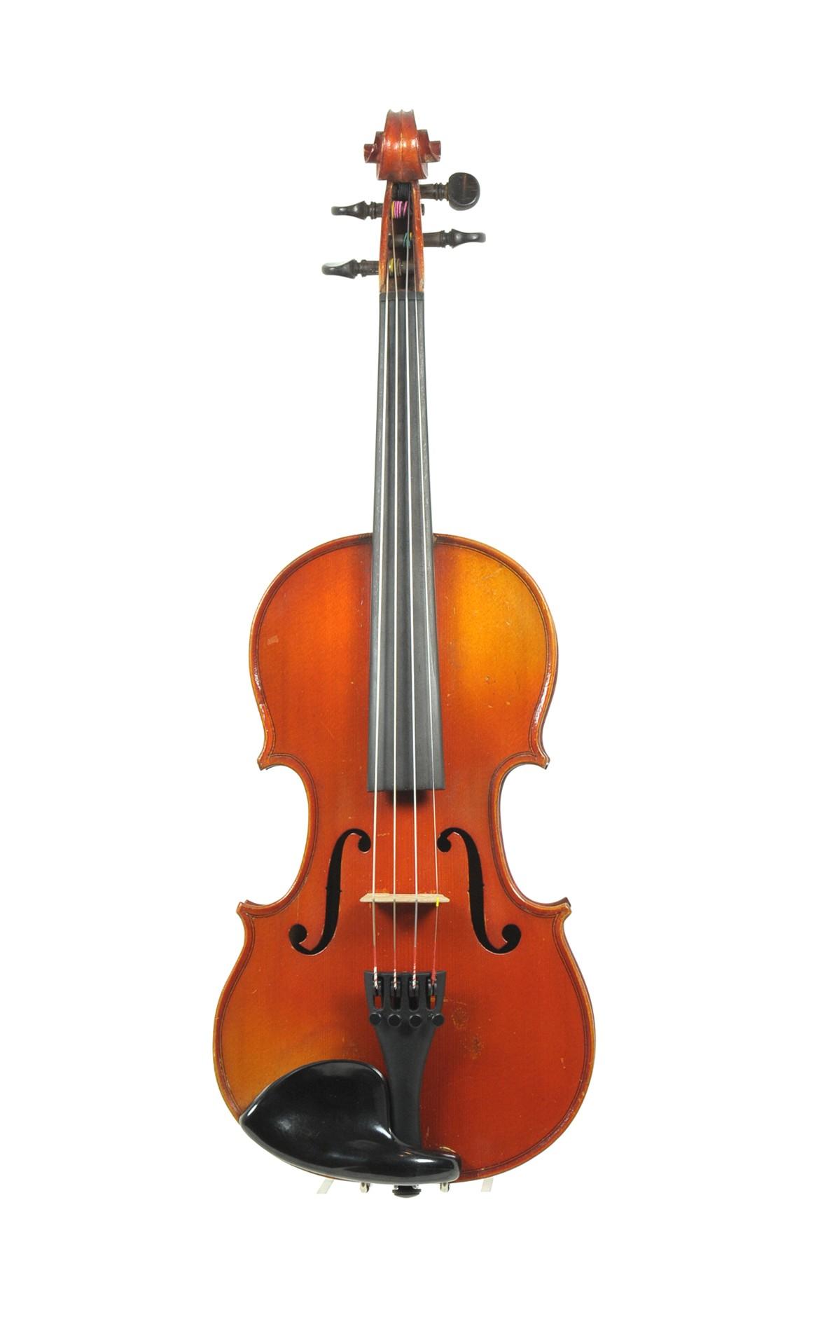 Mansuy 1/2 violin, Mirecourt - top