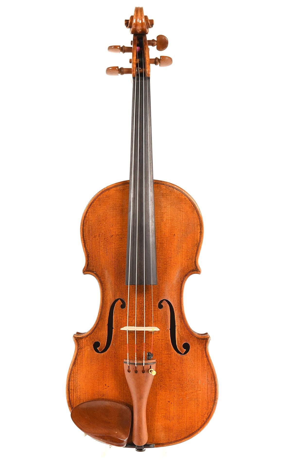 Old Saxon violin after J. B. Schweitzer