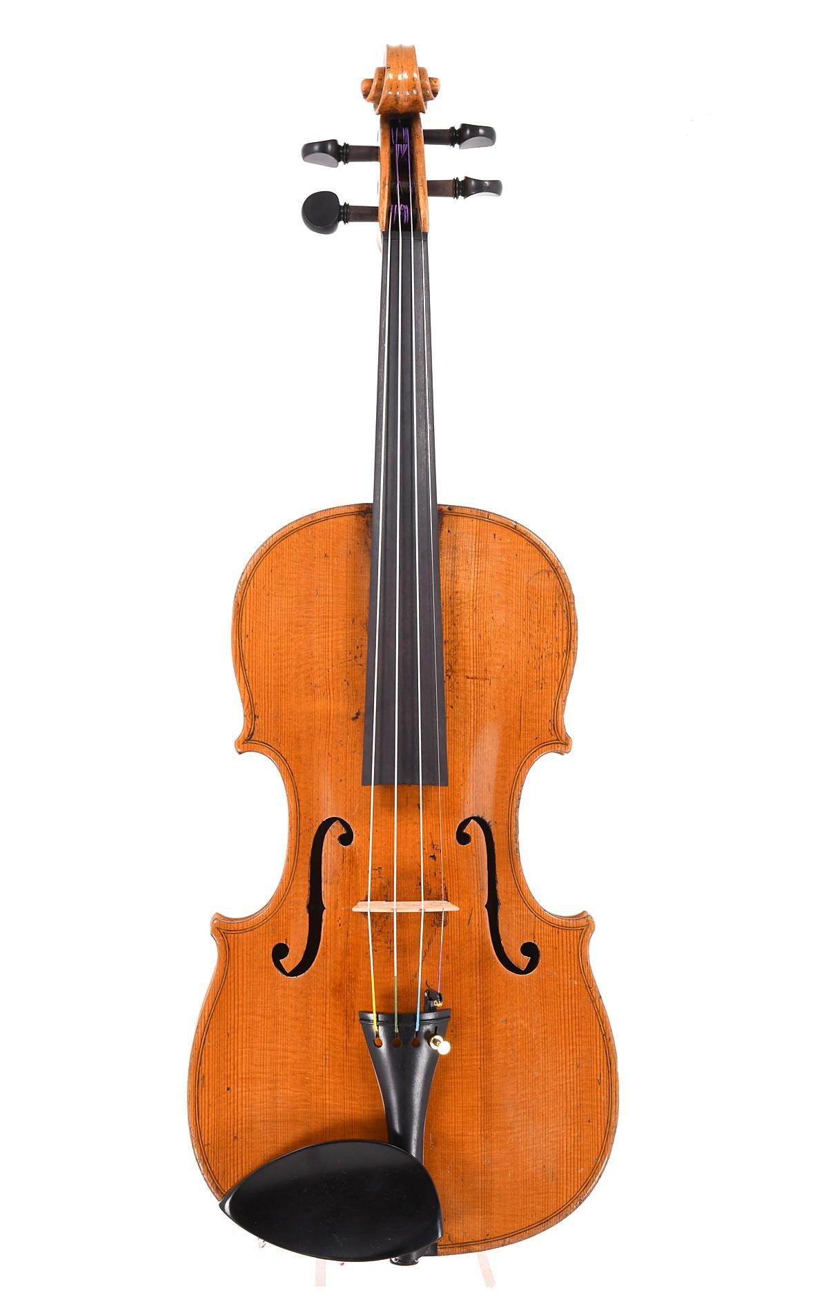 David Christian Hopf jun., fine Vogtland violin
