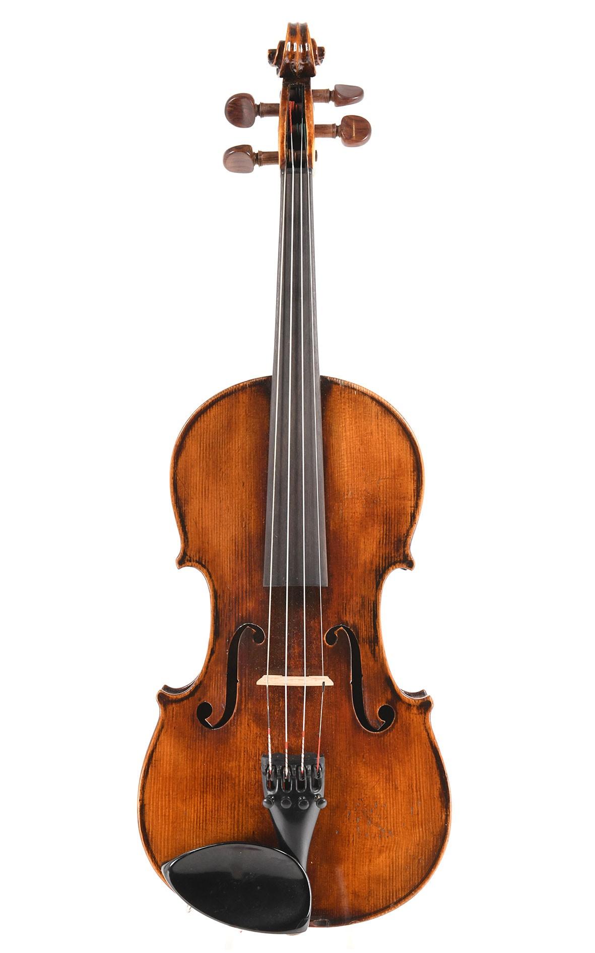 Old bohemian violin -  handmade