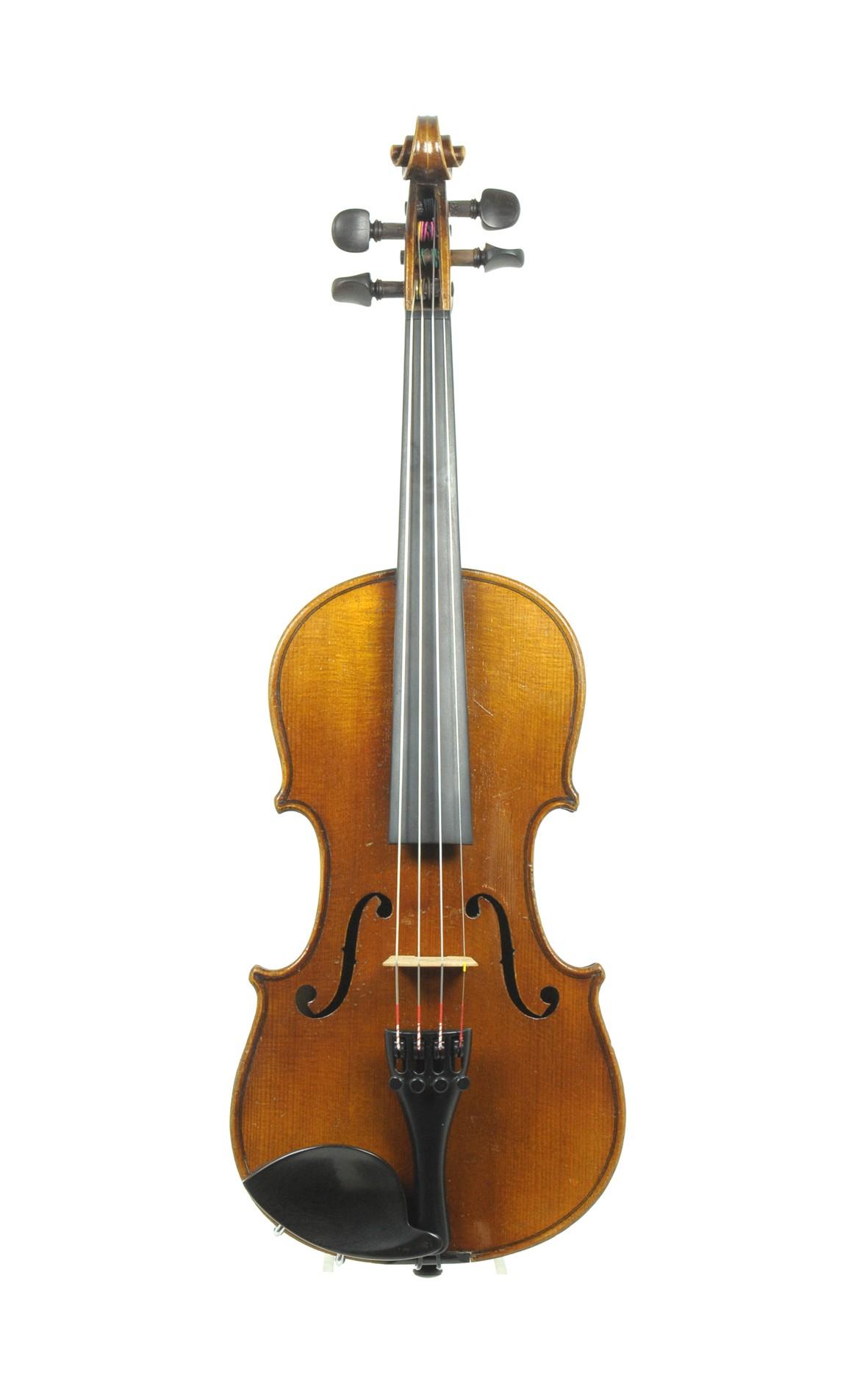 1/2 violin, Klingenthal, ca. 1900 - top